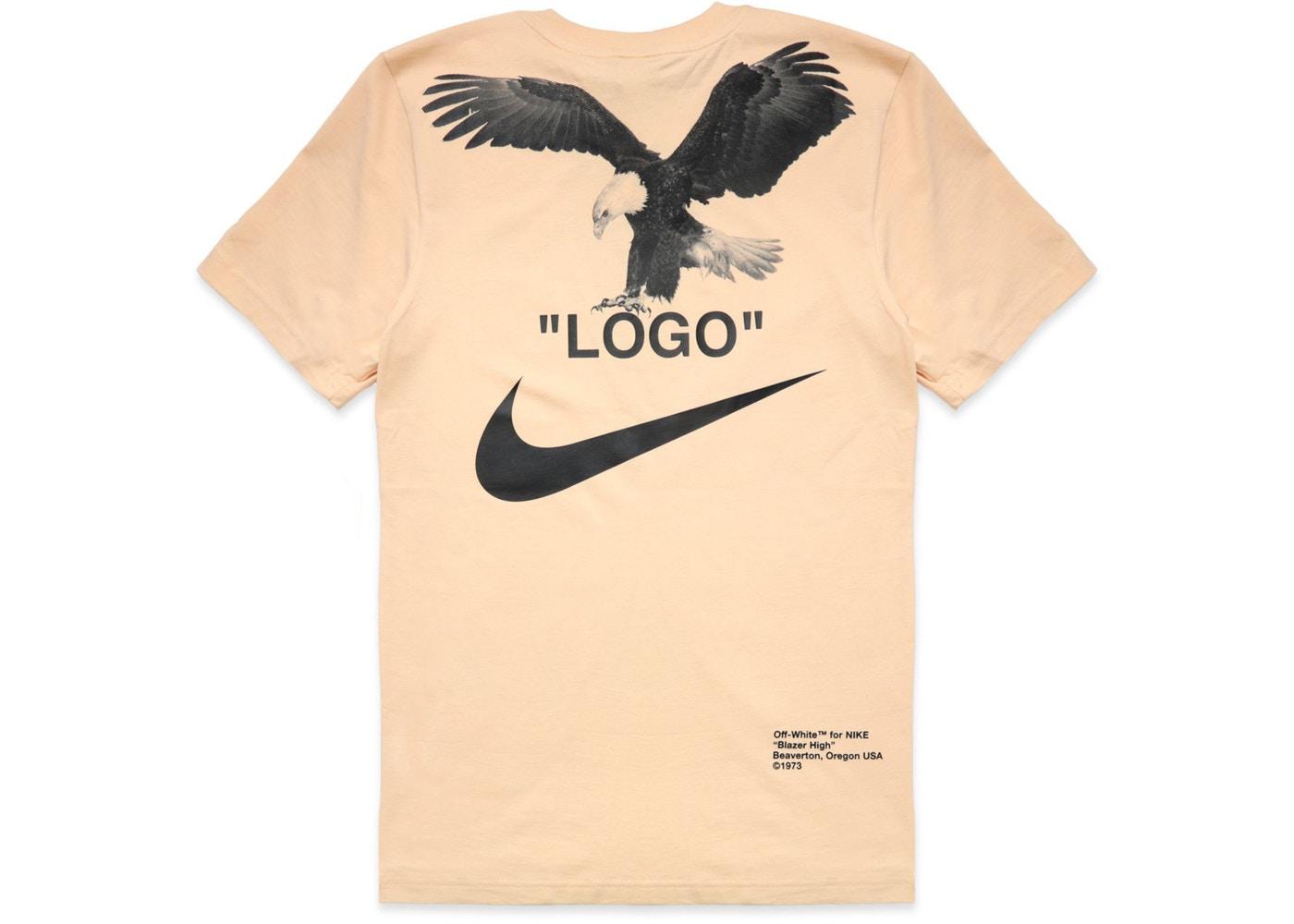 raya pecho Padre  Nike Off-white X Nike Nrg A6 Tee - Vanilla | Grailed