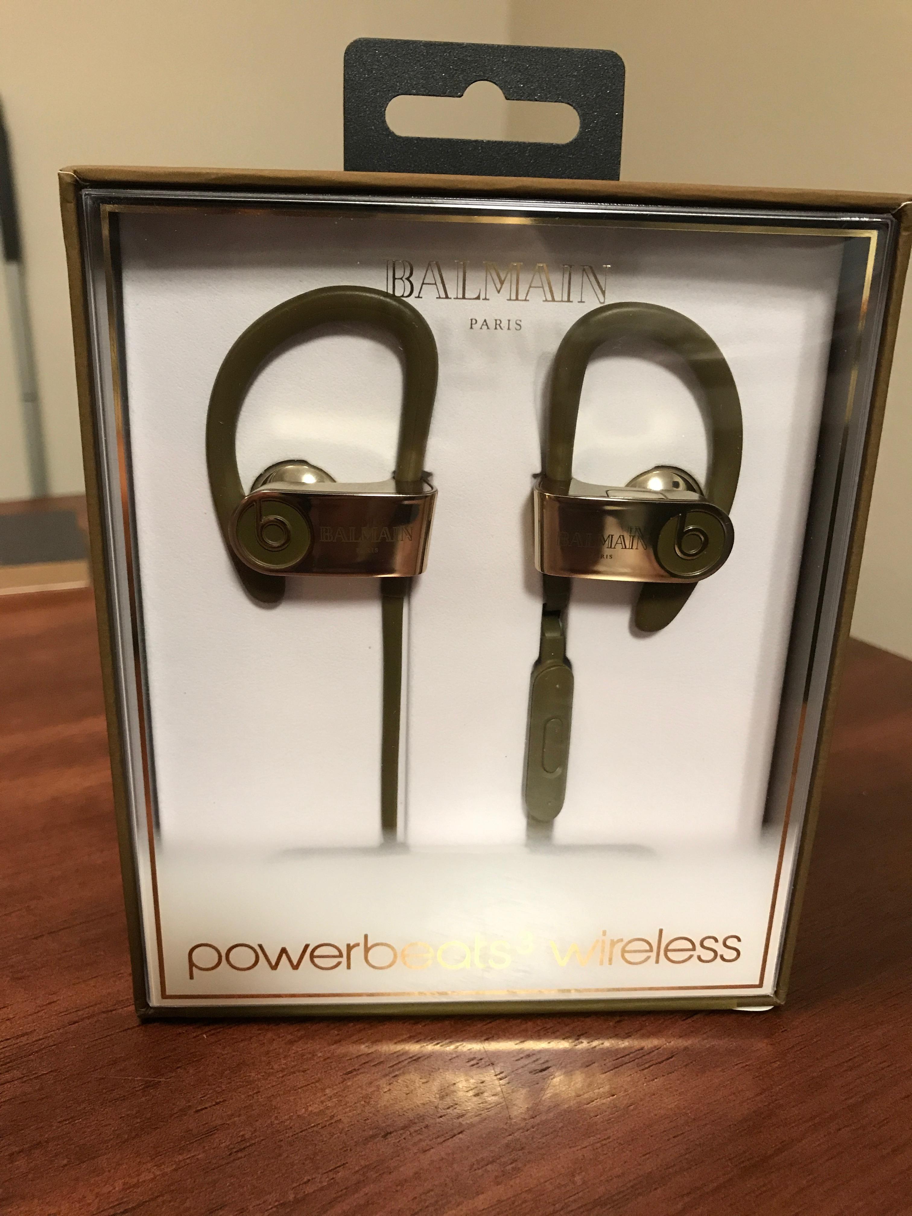 c5e8c59107c Balmain Last Drop Balmain X Beats Powerbeats 3 Wireless | Grailed