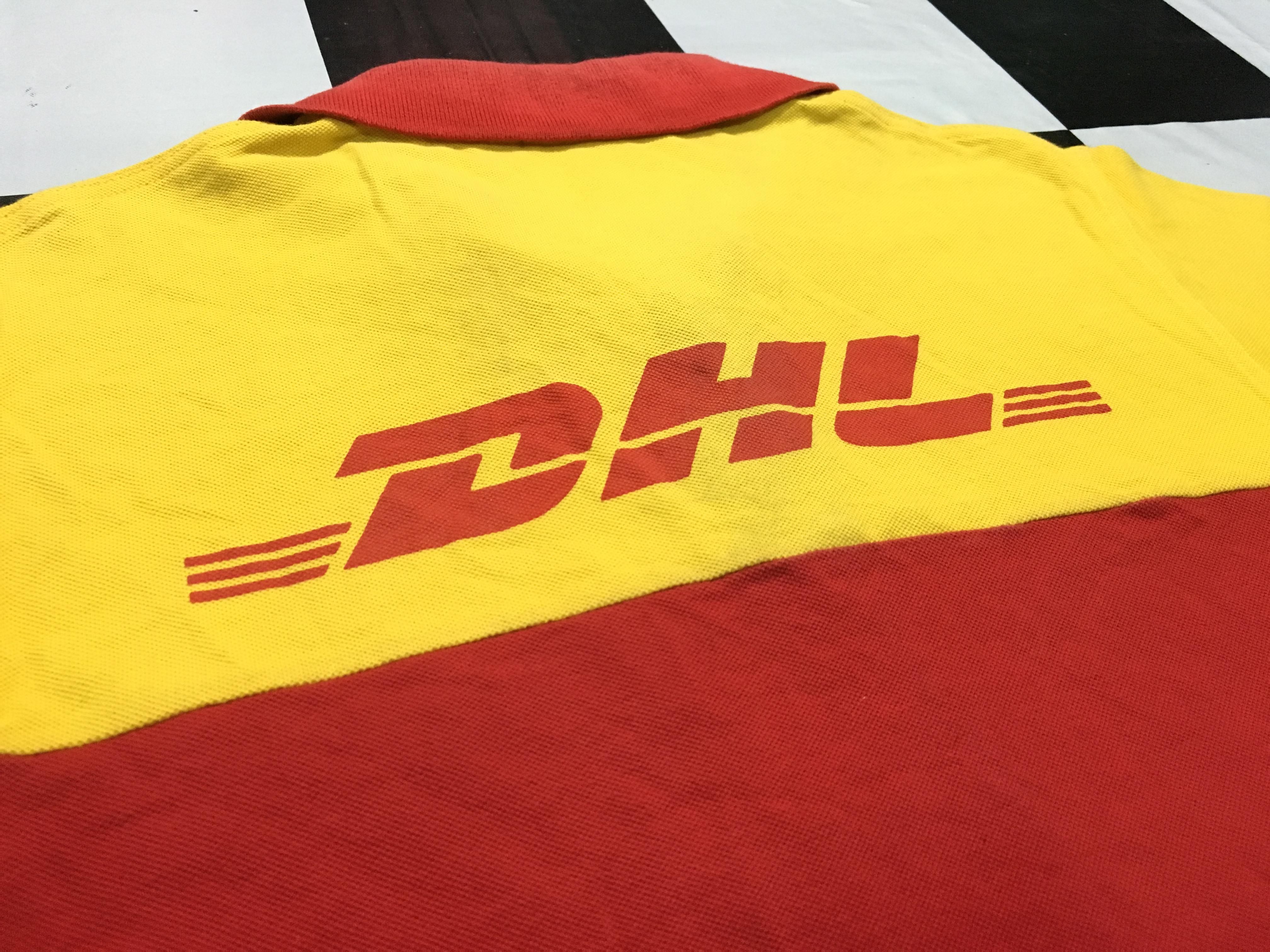 Vintage DHL polo shirt DHL Shipping uniform DHL Express