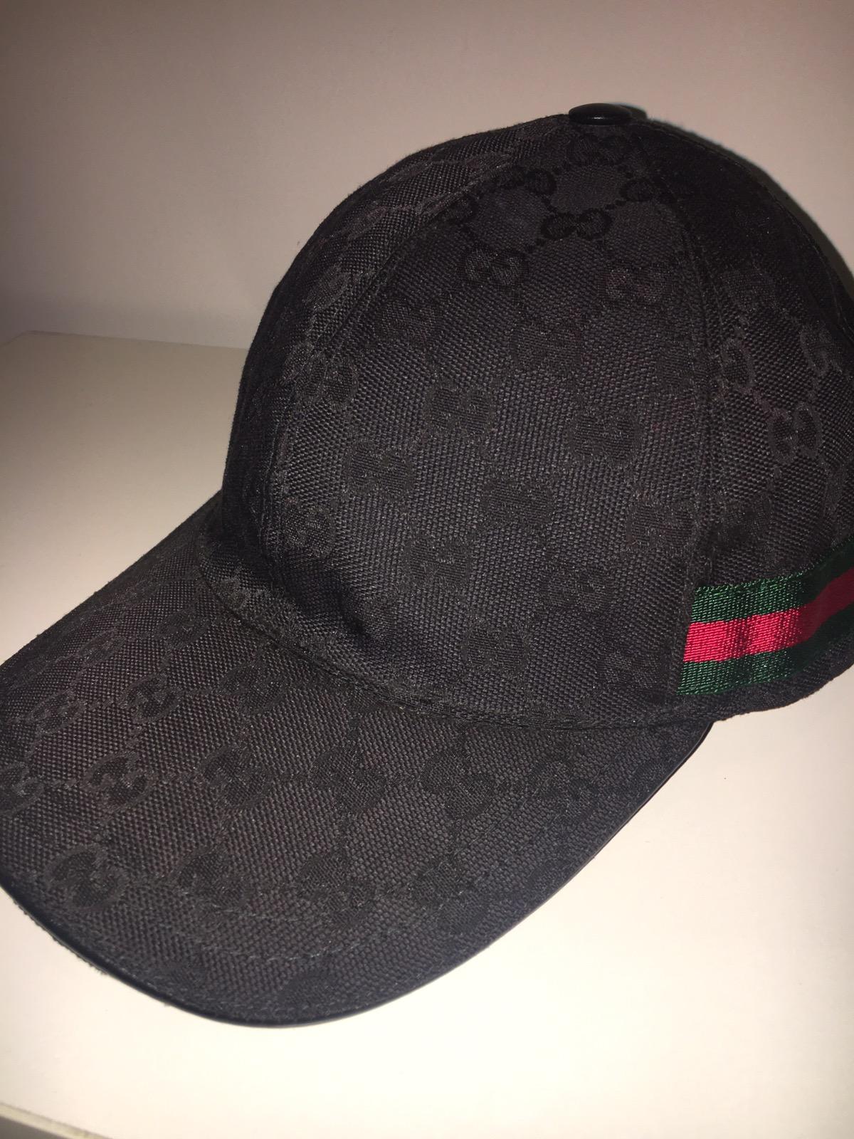 eb9d769db4a Gucci Original GG Canvas Baseball Hat