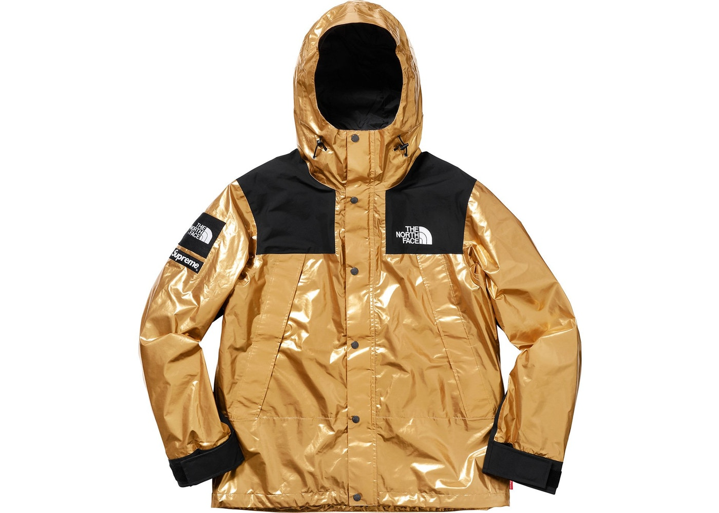 Supreme Metallic Mountain Parka Gold Size m - Light Jackets for Sale -  Grailed a9c04f37e