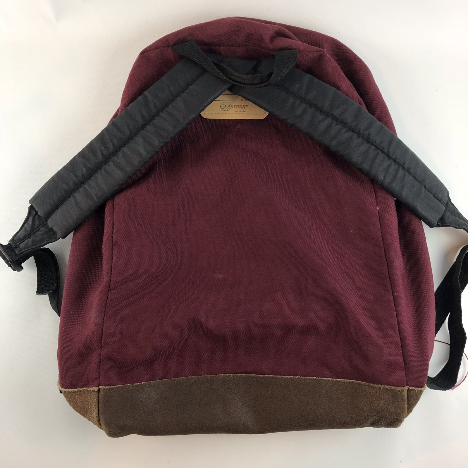 4da7dacfc Vintage Eastpak Maroon Red Backpack Similar To Back To The Future Marty 1