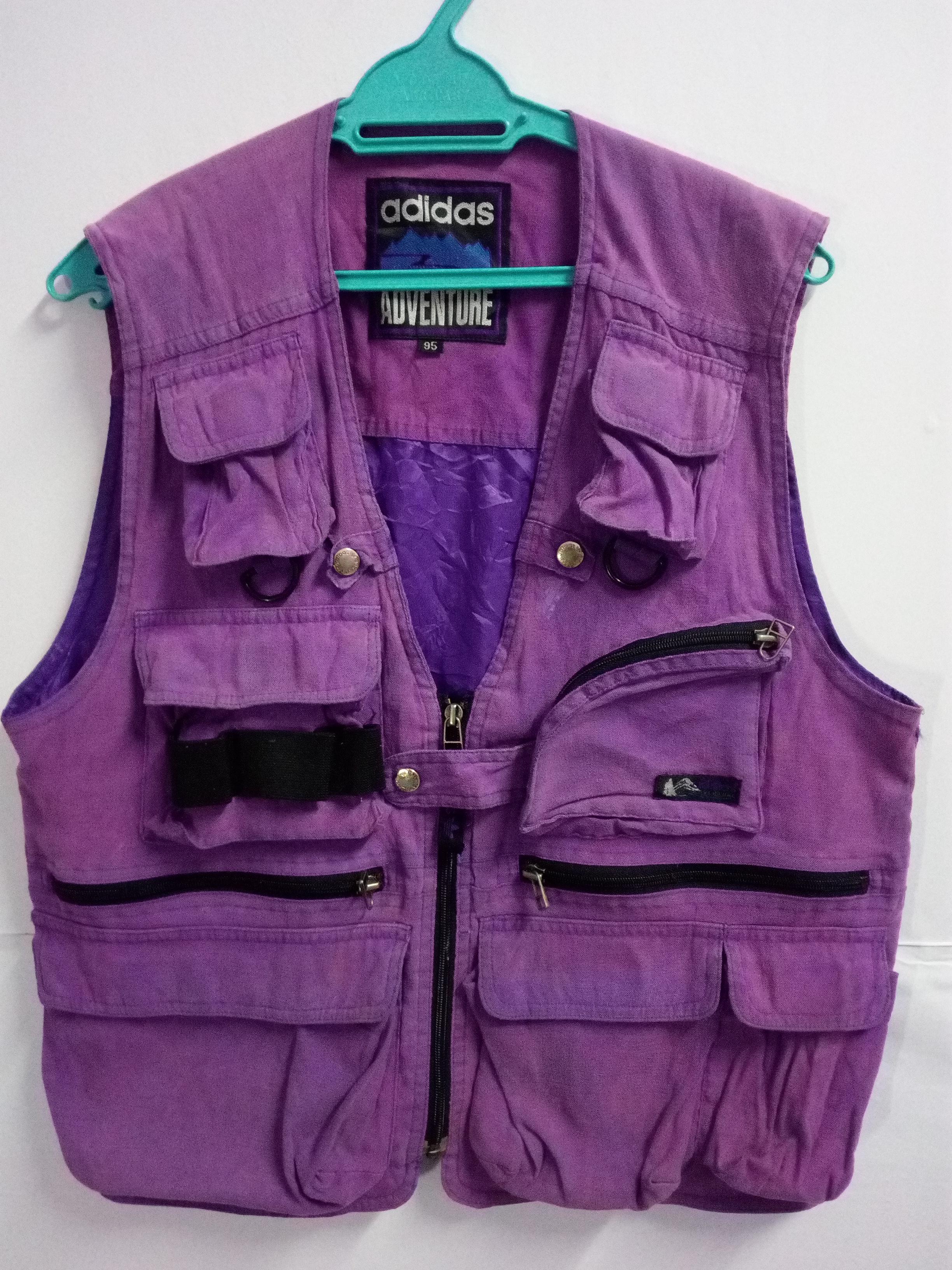 cocina espacio Karu  Adidas Need Gone!! Vintage Vest Adidas Adventure Trefoil | Grailed