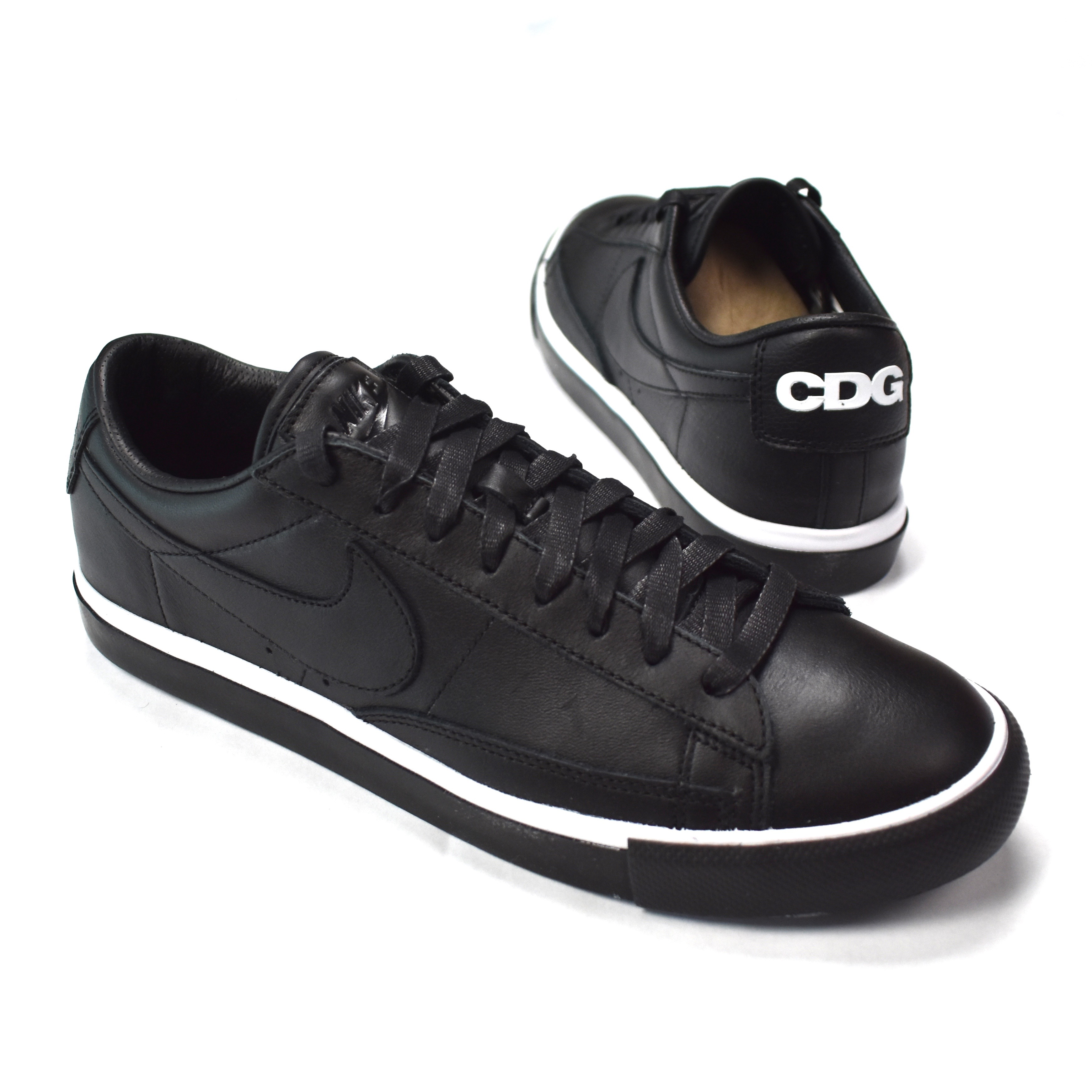 CDG Black Blazer Low Sneakers DS