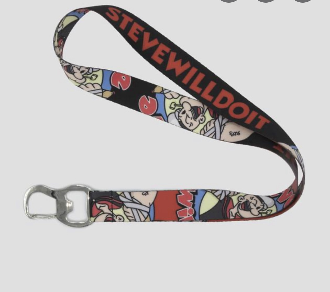 Full Send By Nelk Boys Steve Will Do It Bulldawg Lanyard Grailed Stevewilldoit is a youtuber who got famous after teaming up with nelk boys and posting insane videos online. steve will do it bulldawg lanyard