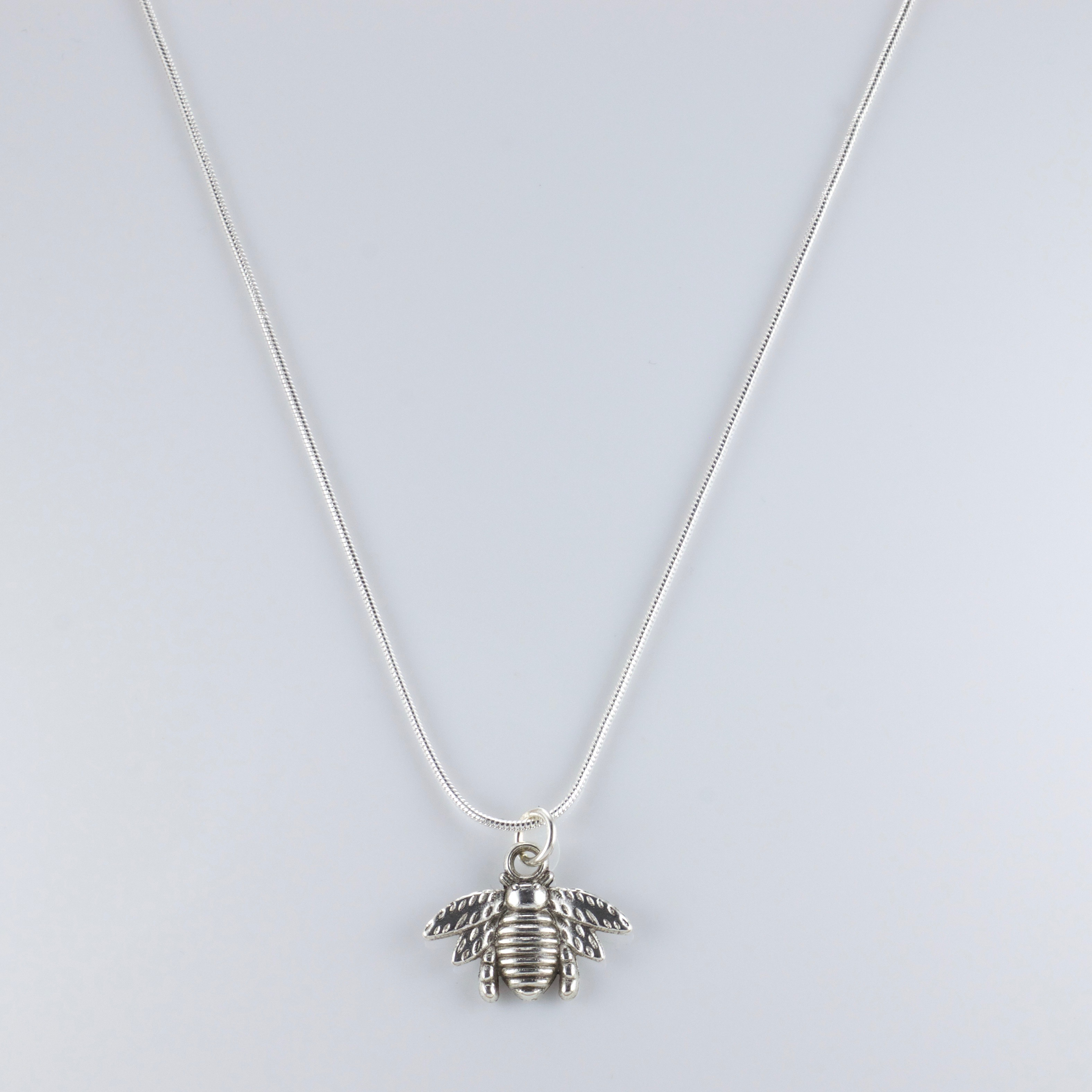 *$25 SALE!* Tyler The Creator Flower Boy Bee Silver Necklace 20