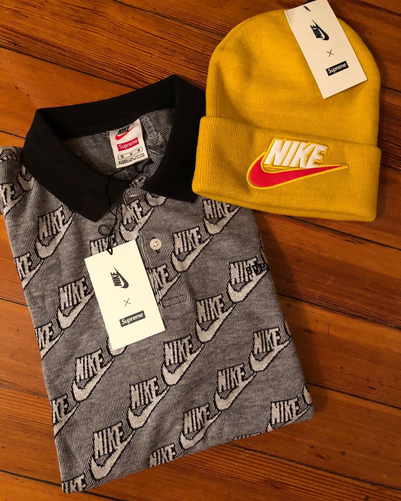 a7a9cd1d9789 Supreme × Nike ×. Nike Supreme polo
