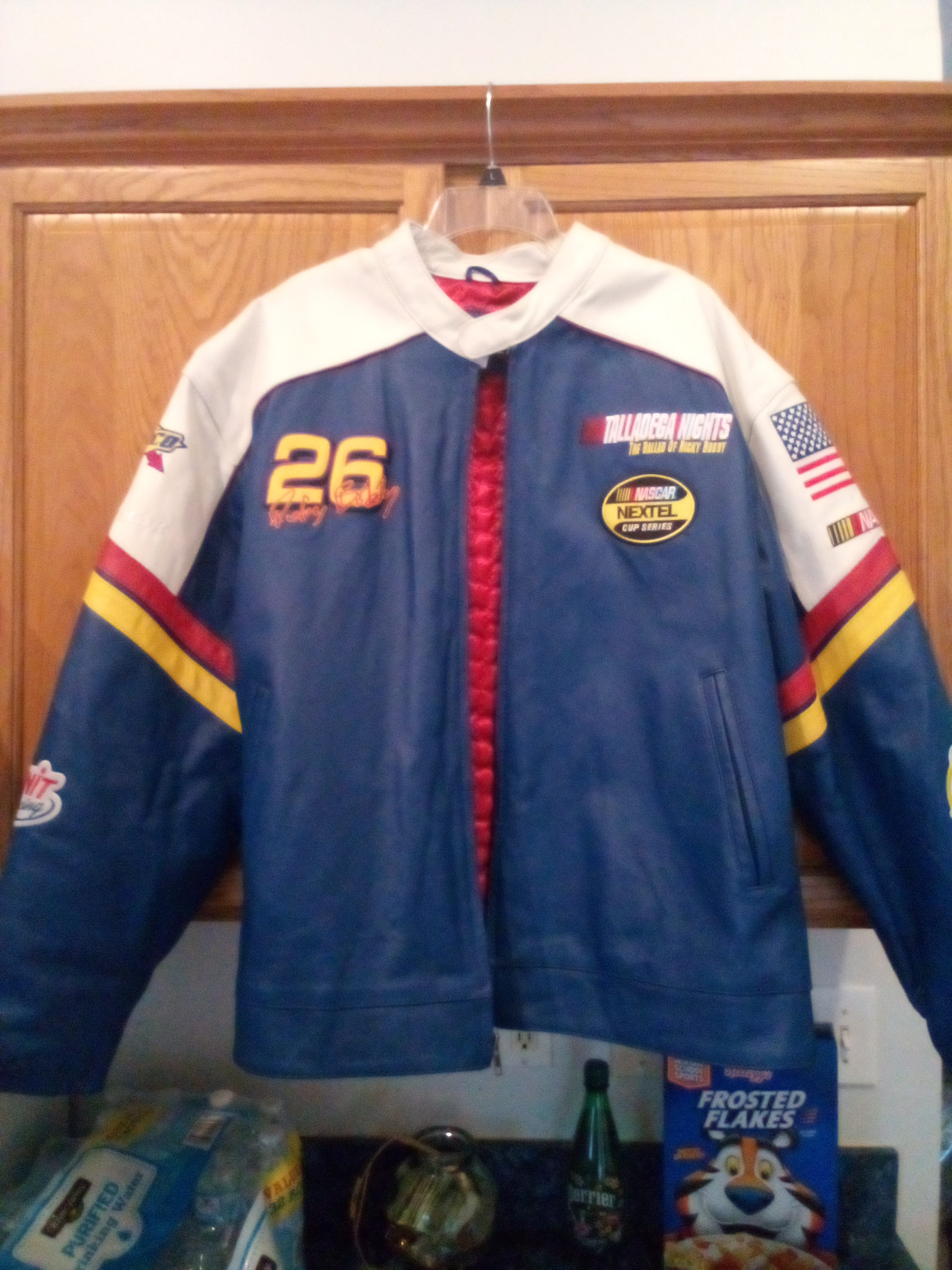 Wilsons Leather Nascar Racing Jacket Grailed