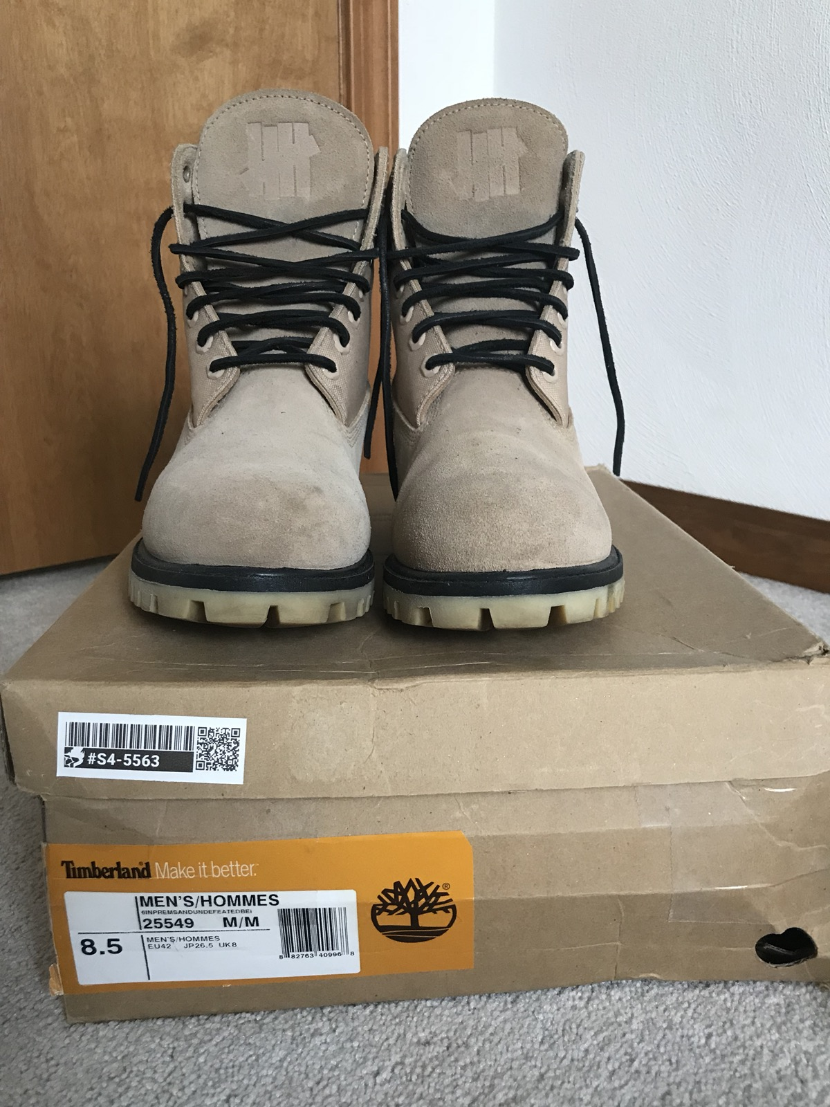 Timberland x Undefeated Boots