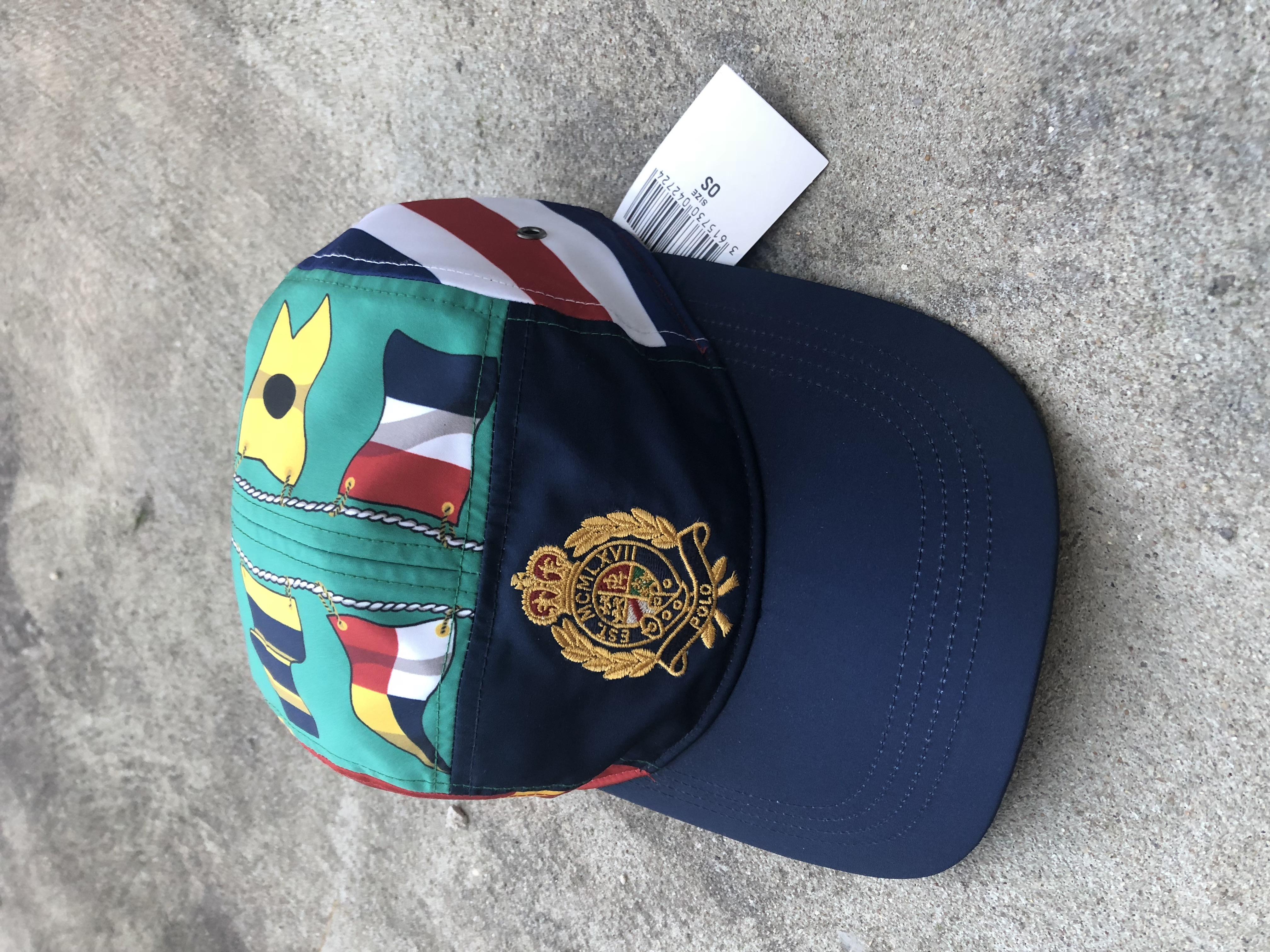 7cae330d Polo Ralph Lauren Polo Cp-93 Sailing Crest Hat Green Bnwt | Grailed