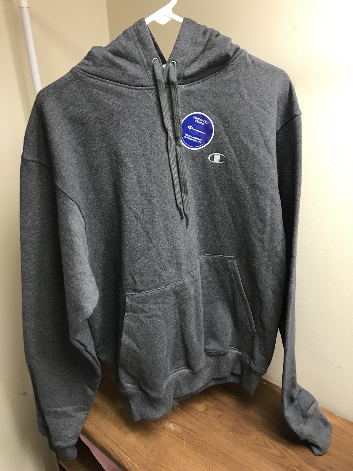 515f1fc78772 Champion Champion Men s Grey Double Dry Fleece Pullover Hoodie Size m -  Sweatshirts   Hoodies for Sale - Grailed