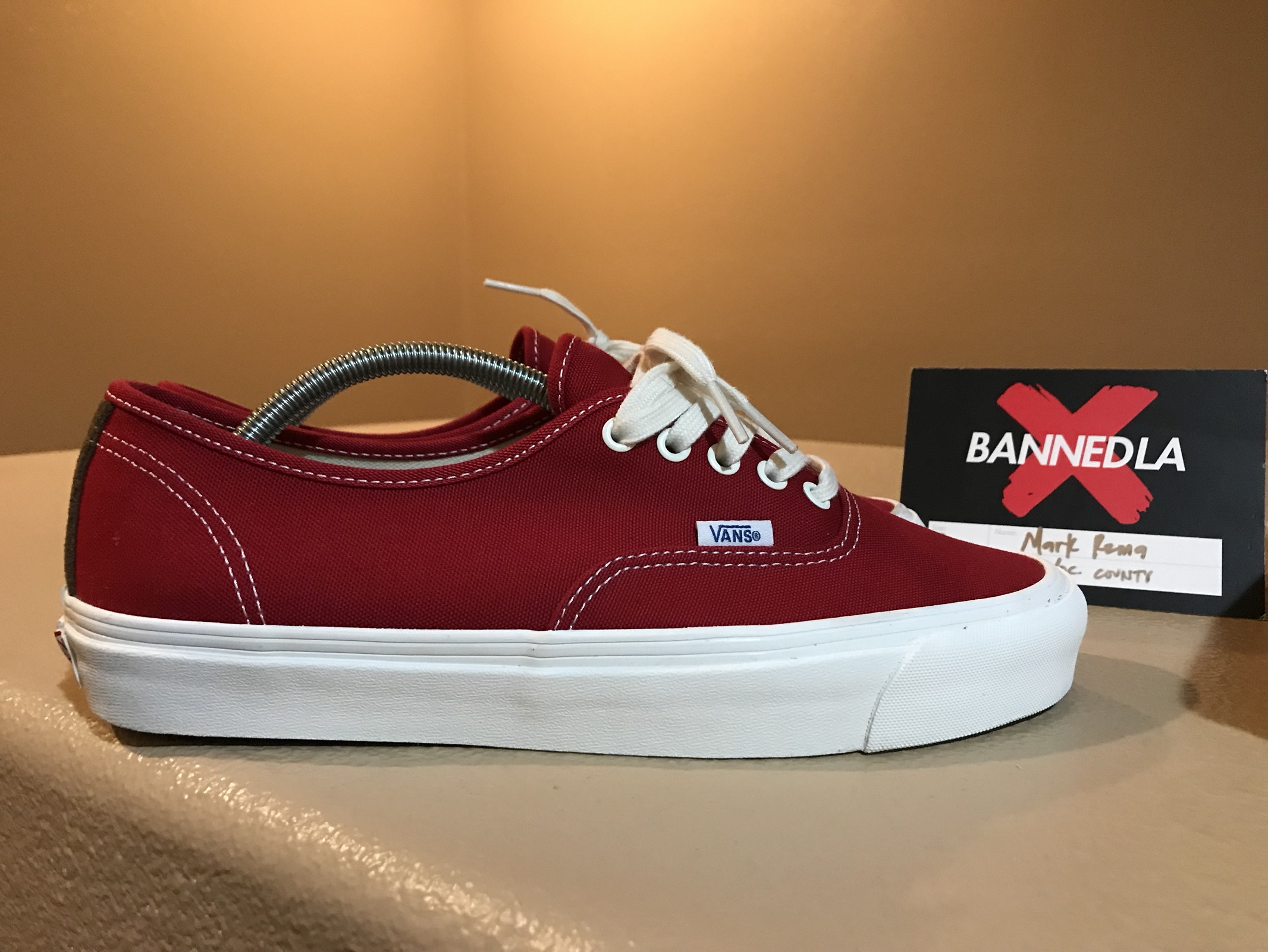 "8ce3f3627ffd Vans Vans vault ""Chili pepper"" OG LX authentic Size 10 - Low-Top Sneakers  for Sale - Grailed"