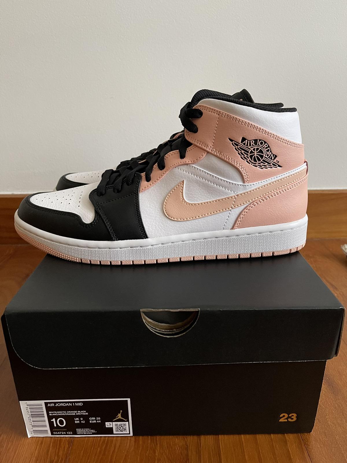 Jordan Brand Nike Air Jordan 1 Mid | white arctic orange