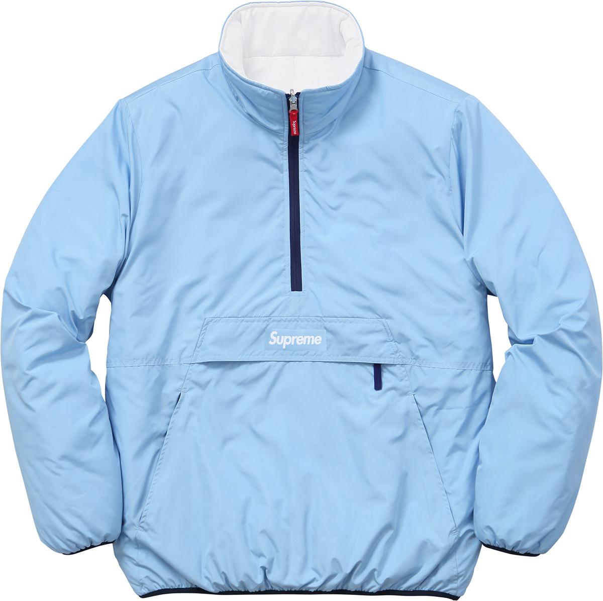 4149f3c786 Supreme Blue Reversible Half Zip XL Size xl - for Sale - Grailed