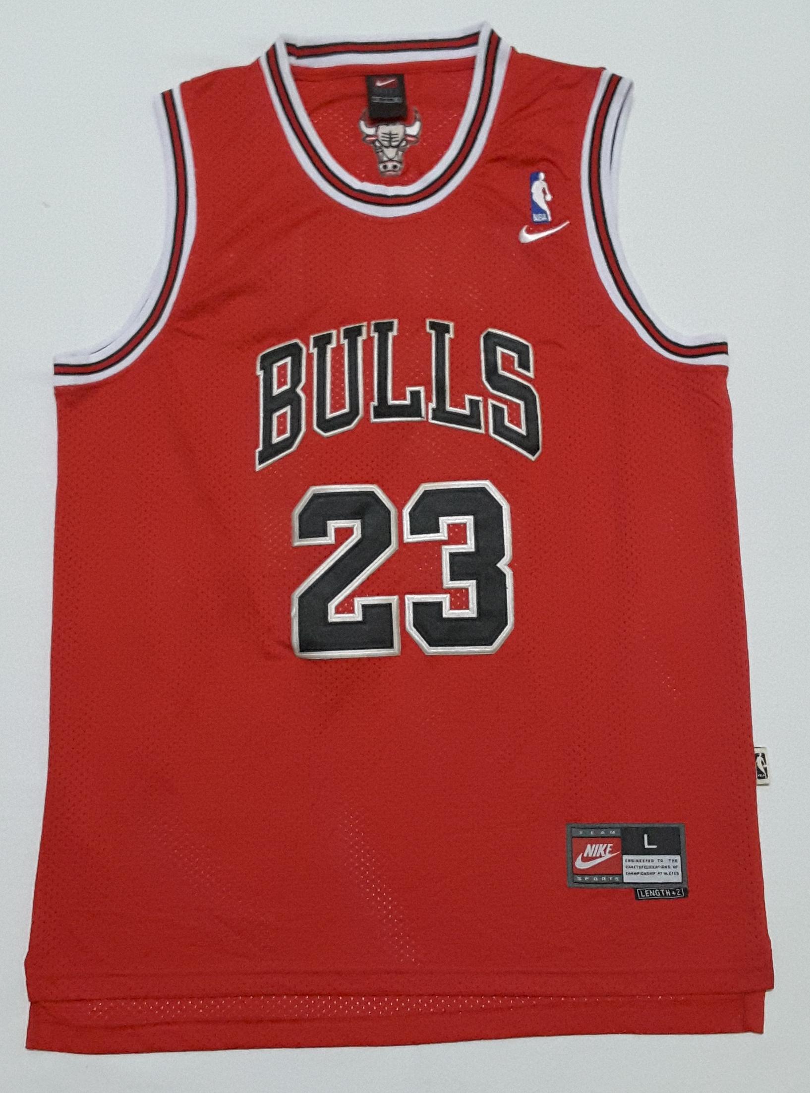 official photos 23012 220e2 NBA Micheal Jordan Chicago Bulls #23 Basketball Jersey