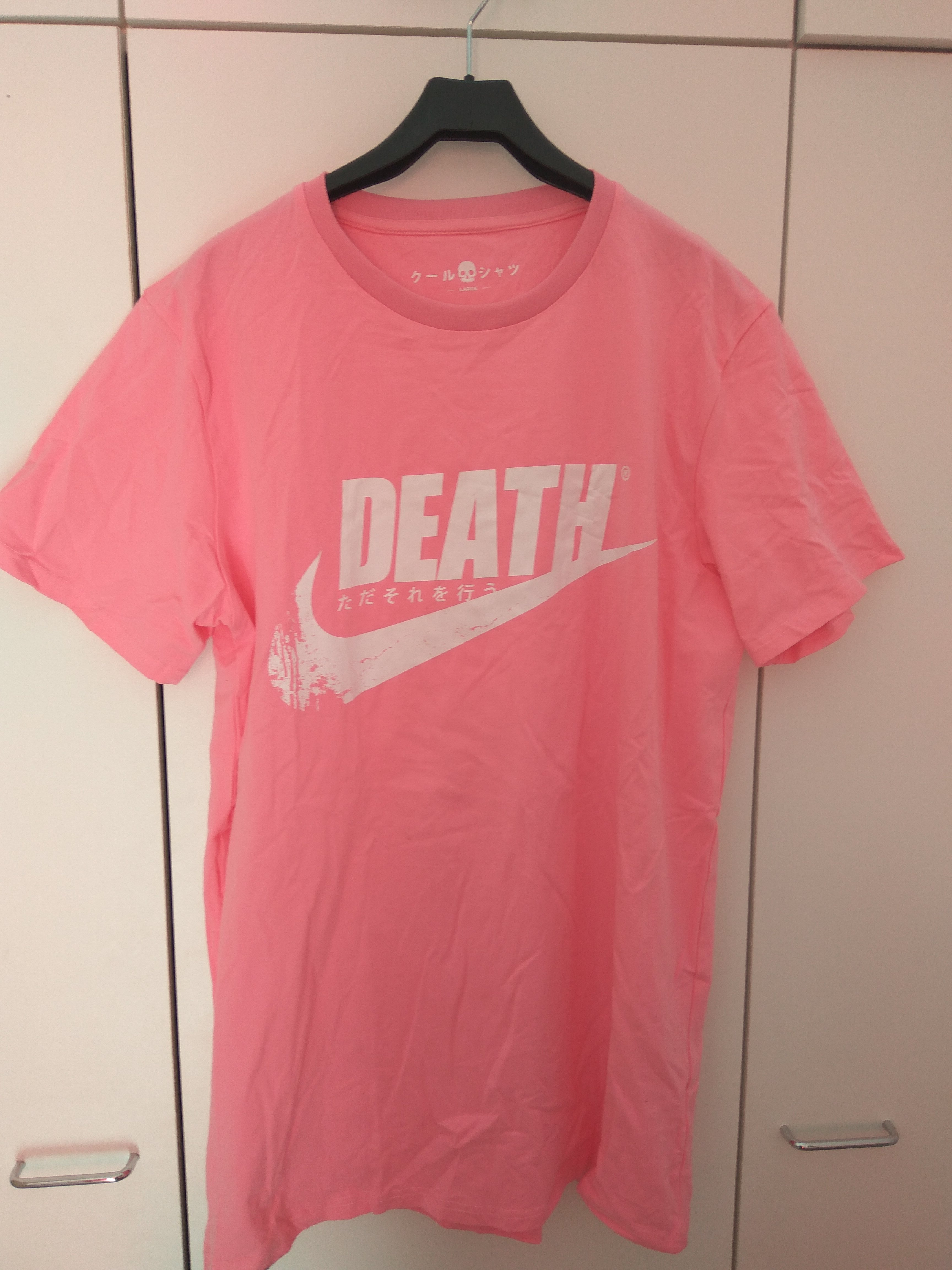 1ace7dbc5938 Custom ×. Nike Pink Death t-shirt