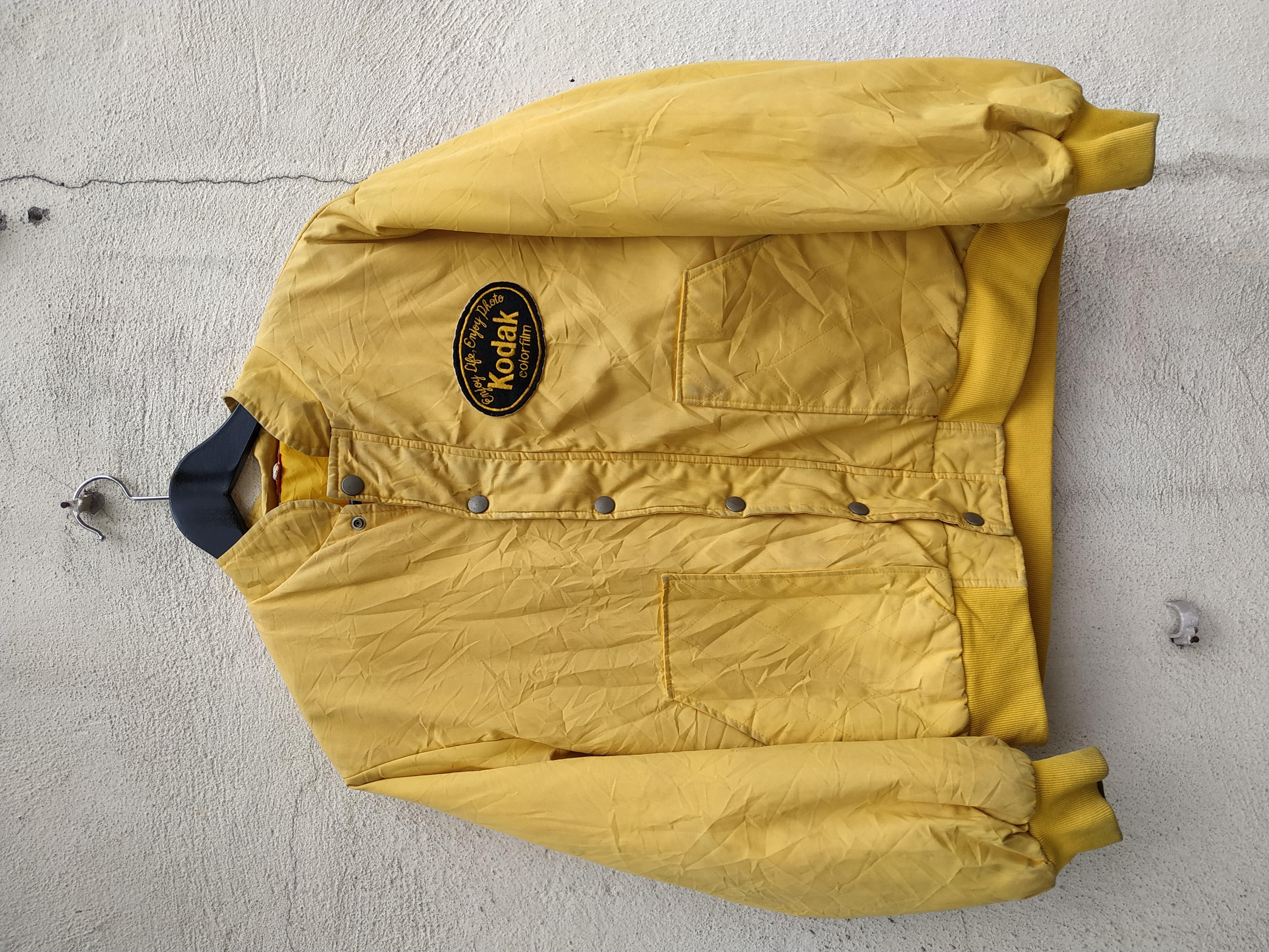 Vtg Fuji Chrome Provia Film Harrington Jacket Kodak Fuji Color Film Japan Brand