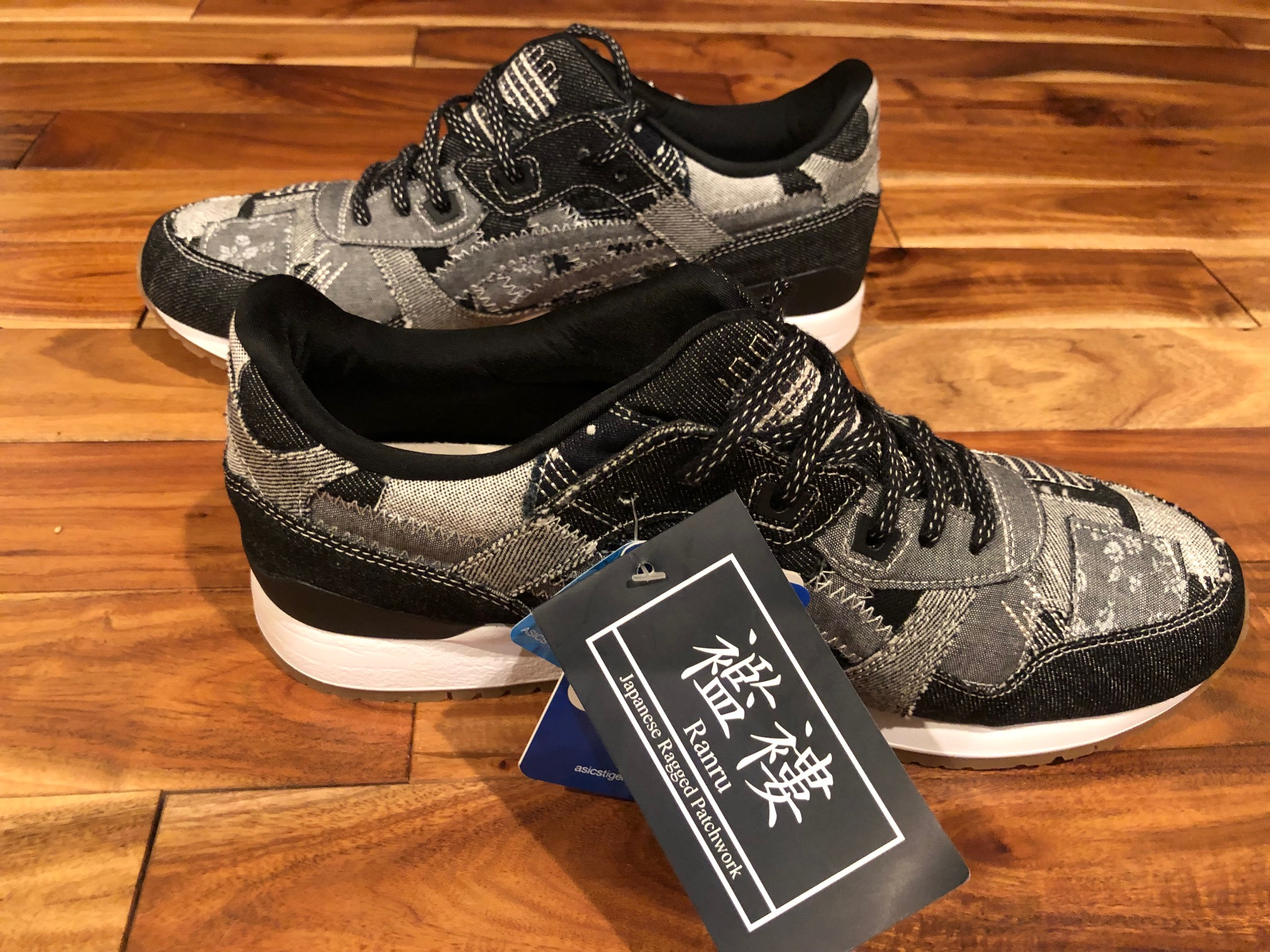 Asics Gel Lyte III Ranru Pack Japanese Patchwork Black