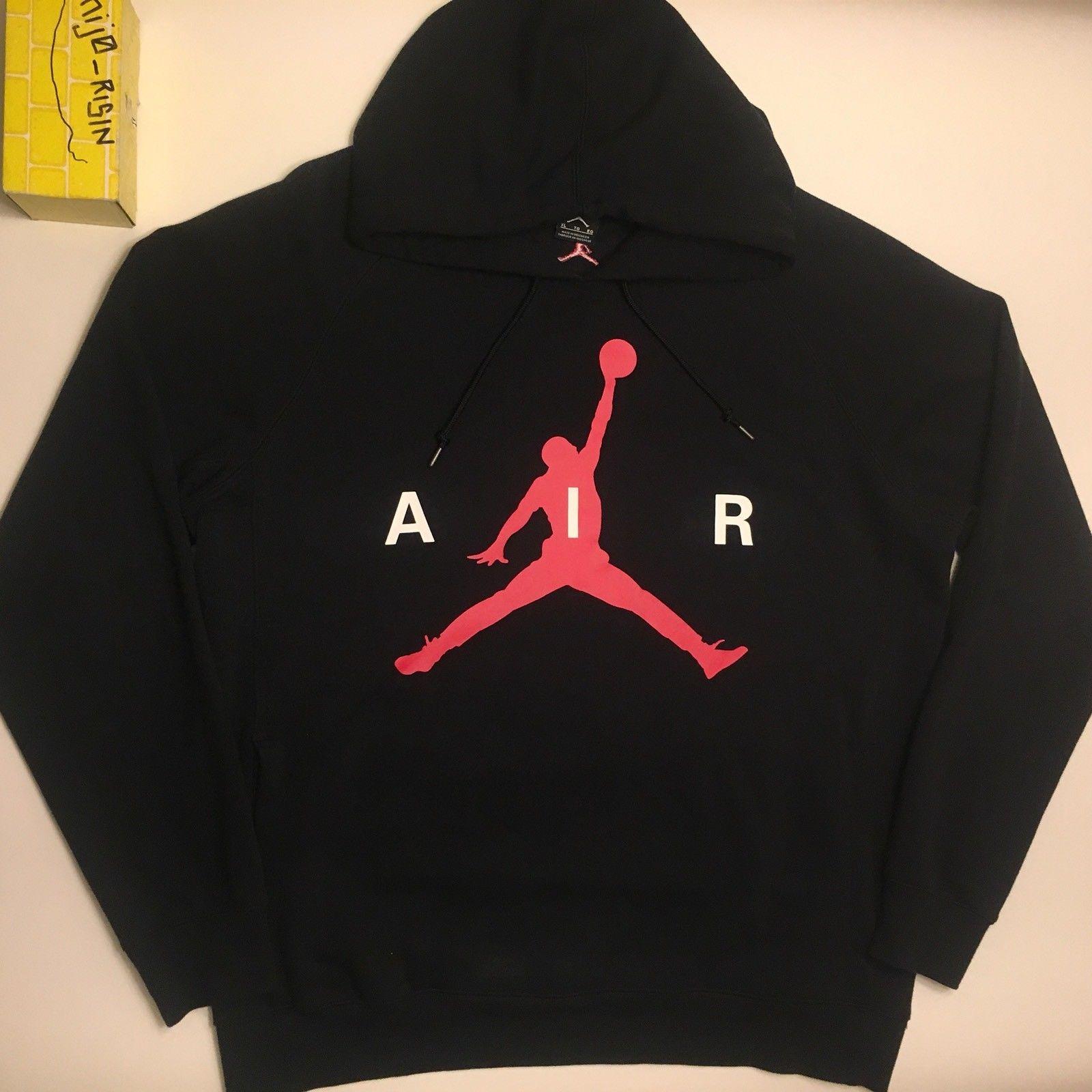 f0561c428eab Jordan Brand ×. NIKE AIR JORDAN JUMPMAN GRAPHIC BRUSHED PULLOVER HOODIE Men  Size XL
