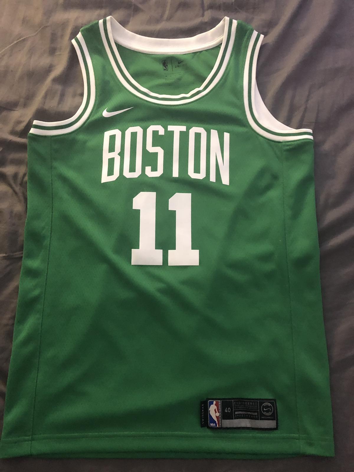 newest b27fc b7e53 Nike Kyrie Irving 11 (Boston Celtics) Jersey