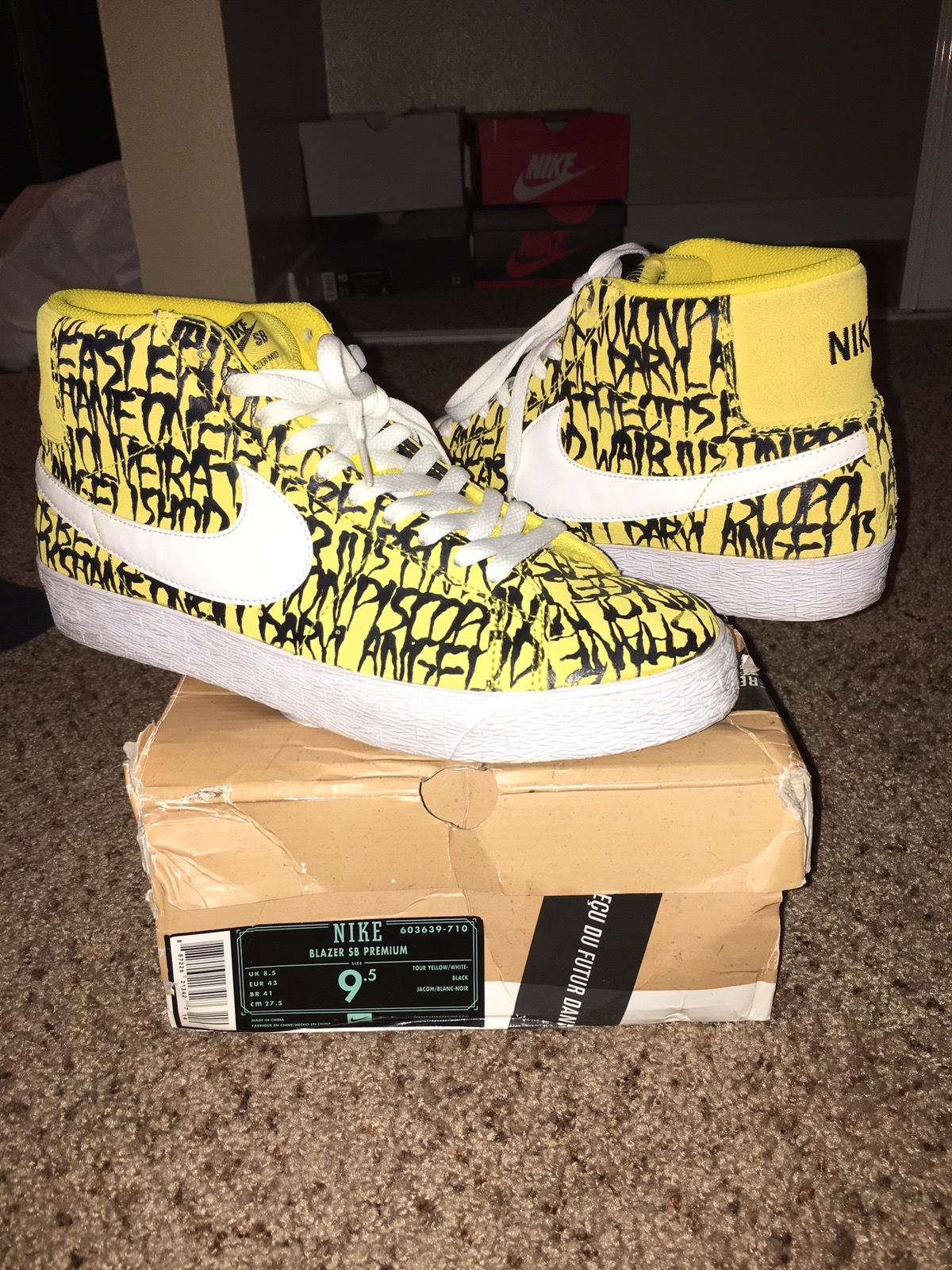 de322b14ec3 Nike Nike Sb Blazer Hi X Neckface Size 9.5 - Hi-Top Sneakers for Sale -  Grailed