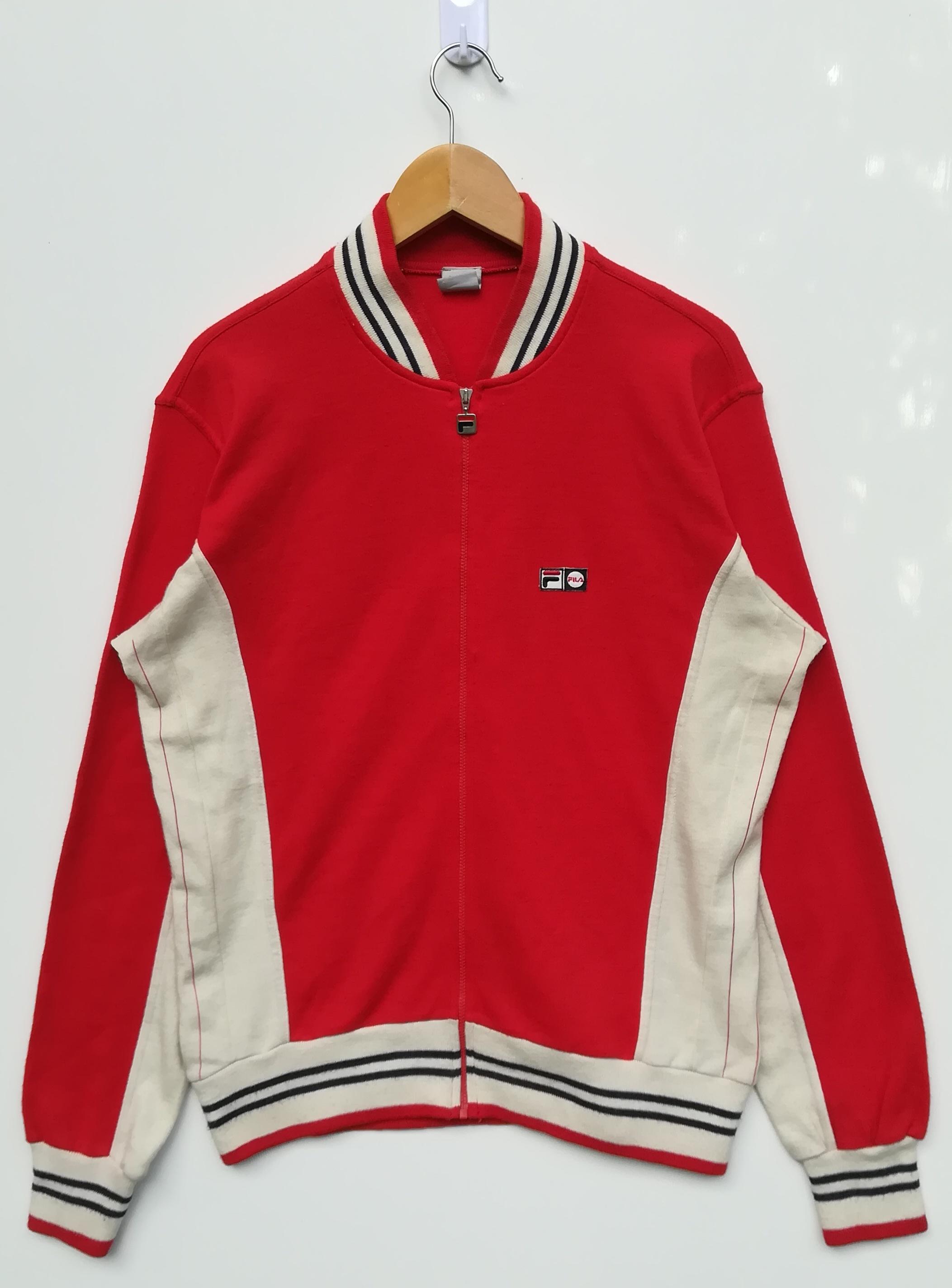 Vintage Fila Track Top Jacket