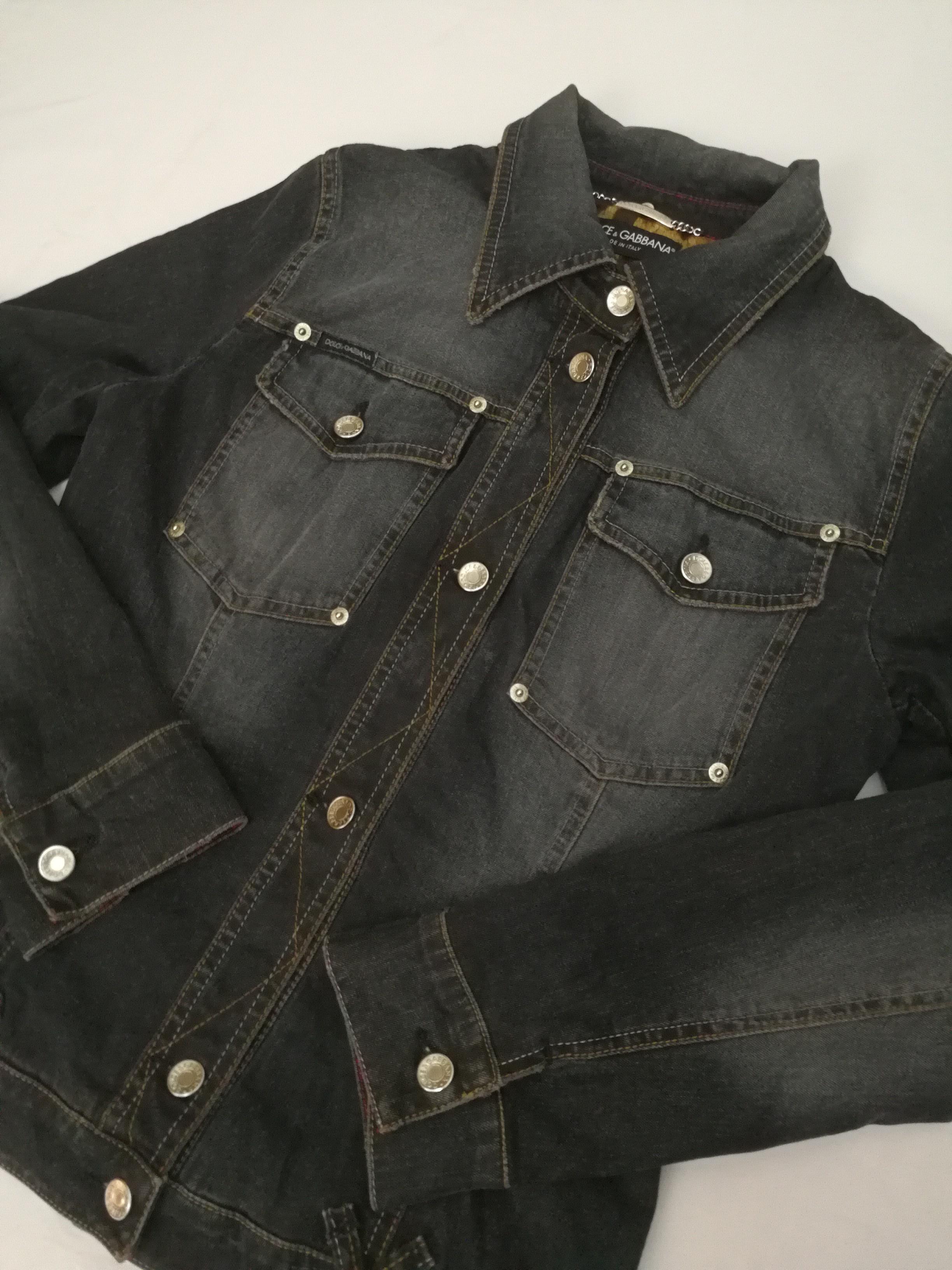 fea853a9f5ba Dolce   Gabbana Vintage Dolce   Gabbana Denim Jacket for Women NOT ...