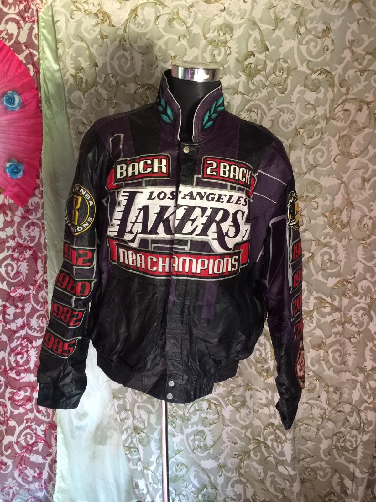 Jeff Hamilton Vintage 2001 Kobe Bryant La Lakers Championship Jacket Grailed