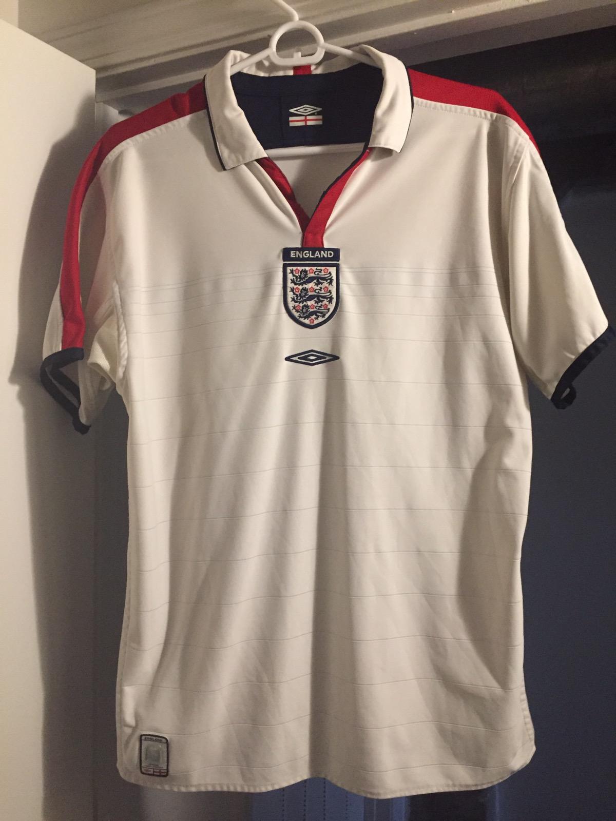 buy online 9b627 26359 England National Football/Soccer Reversible Kit/Jersey