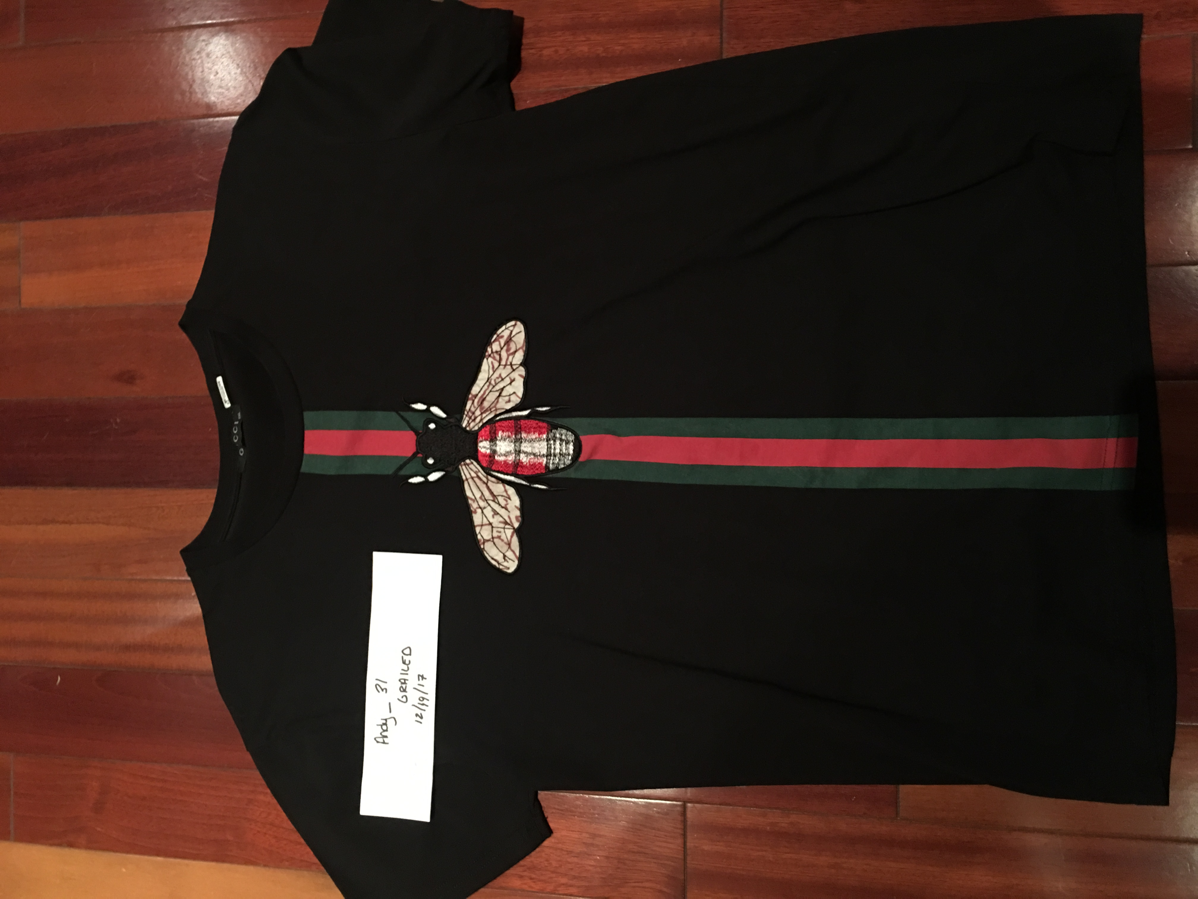 ac9e58241fcc Gucci Gucci Bee Shirt Mint Xxl Gucci Which Is Us Large | Grailed