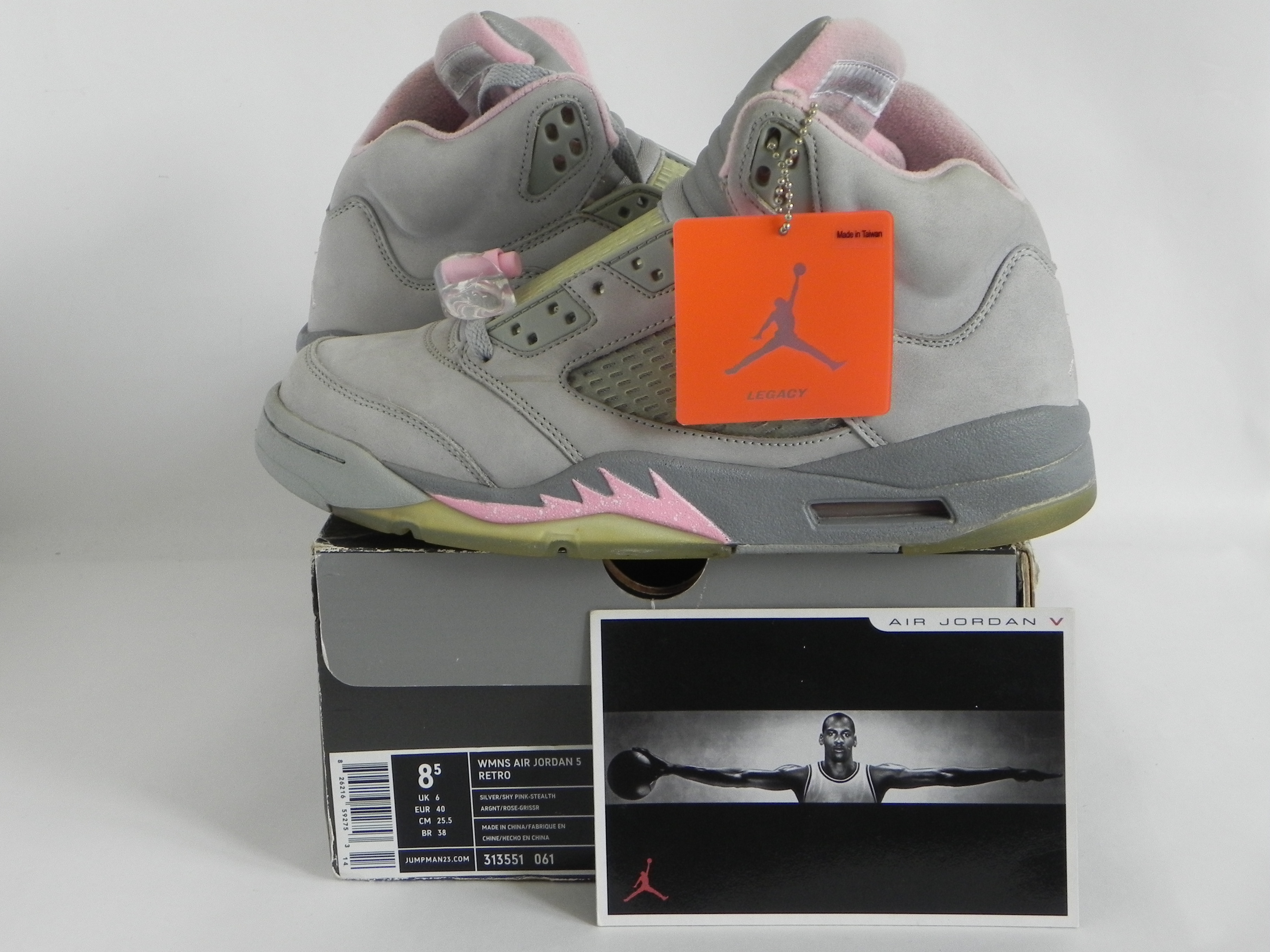 bf56b9011a6 Jordan Brand Shy Pink 5 Air Jordan Size 7 Mens (8.5 Wmn) | Grailed