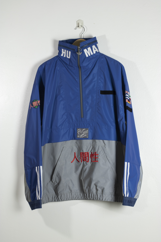 Adidas x Pharrell WIlliams Human Race Half Zip 3M Reflective Jacket