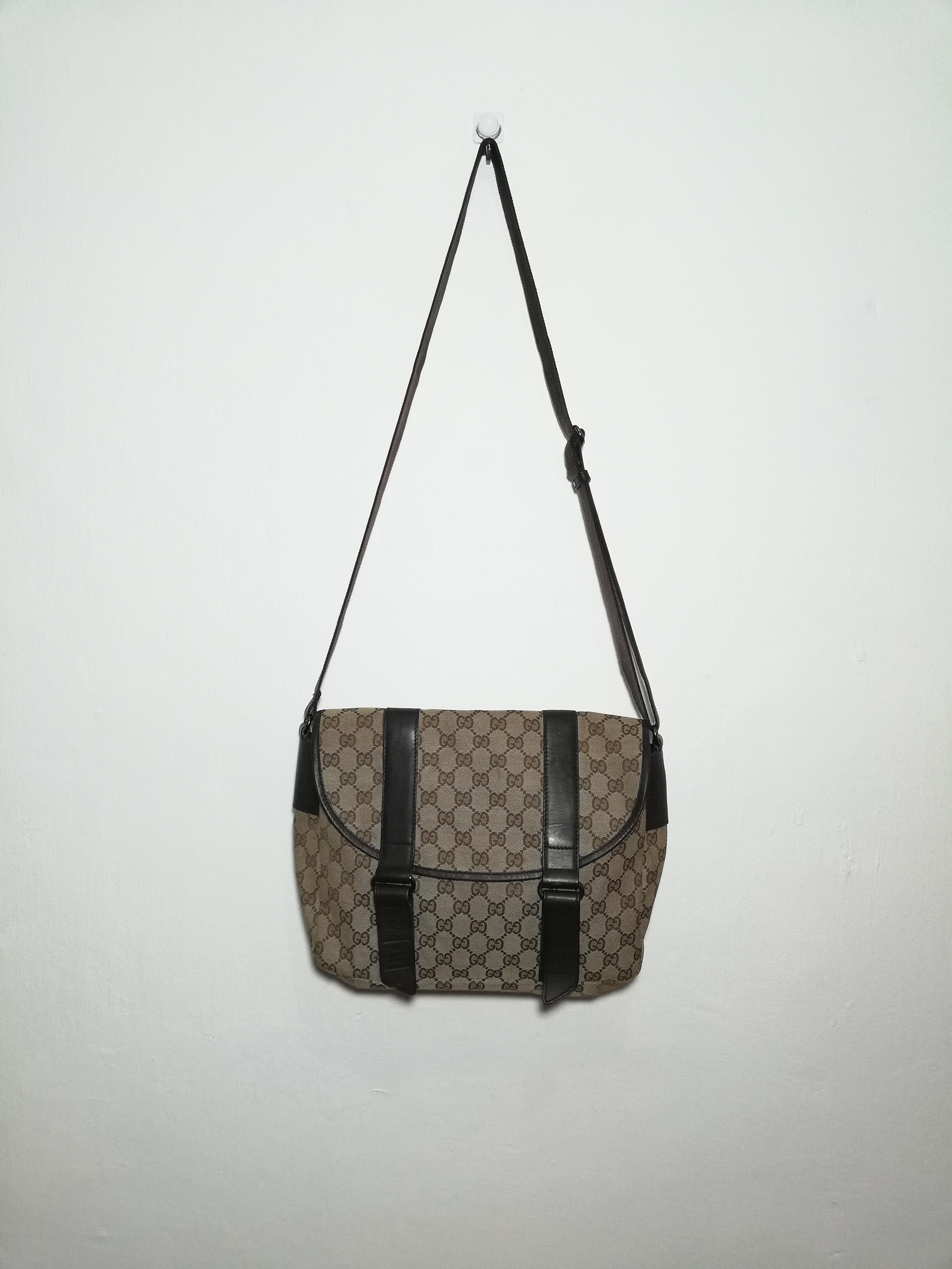 2e8fd2f3665 Gucci Gg Supreme Messenger Bag