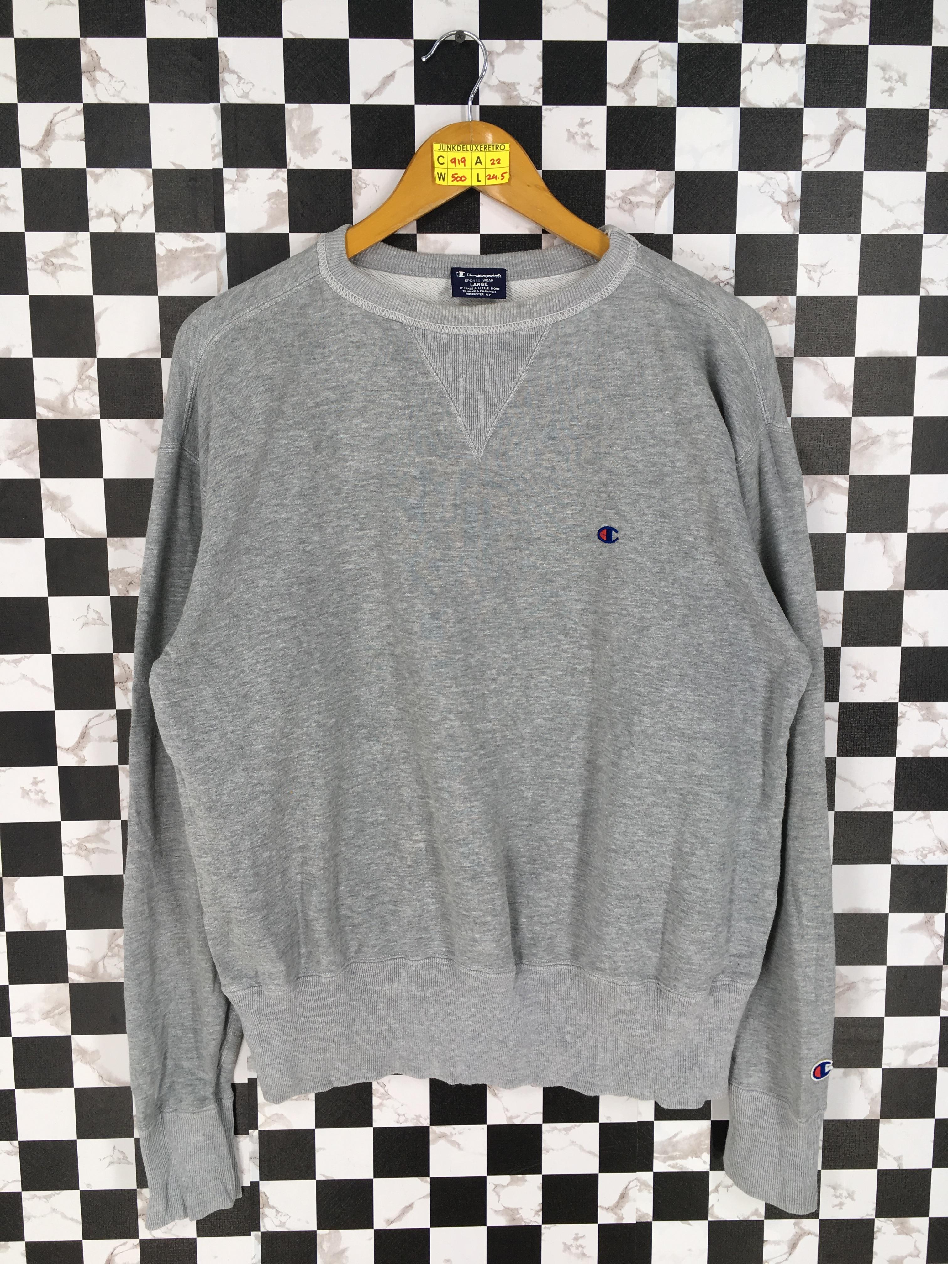 4e5657ad Vintage × Champion ×. CHAMPION Crewneck Sweatshirt Women Large ...