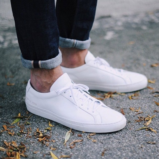 b64054b17e0c9 Common Projects White Achilles Low