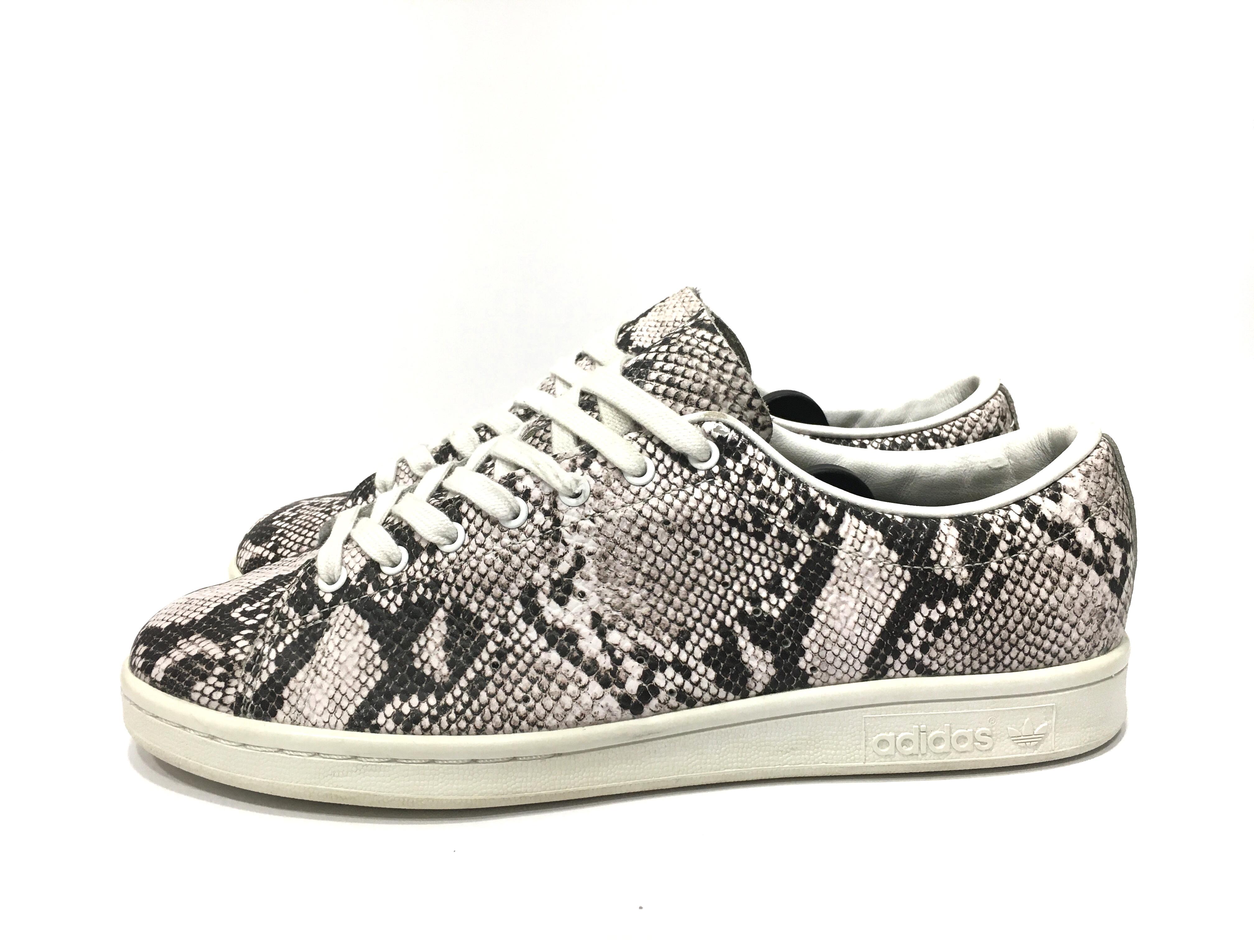 Hyke x Adidas Originals Stan Smith snakeskin sneakers
