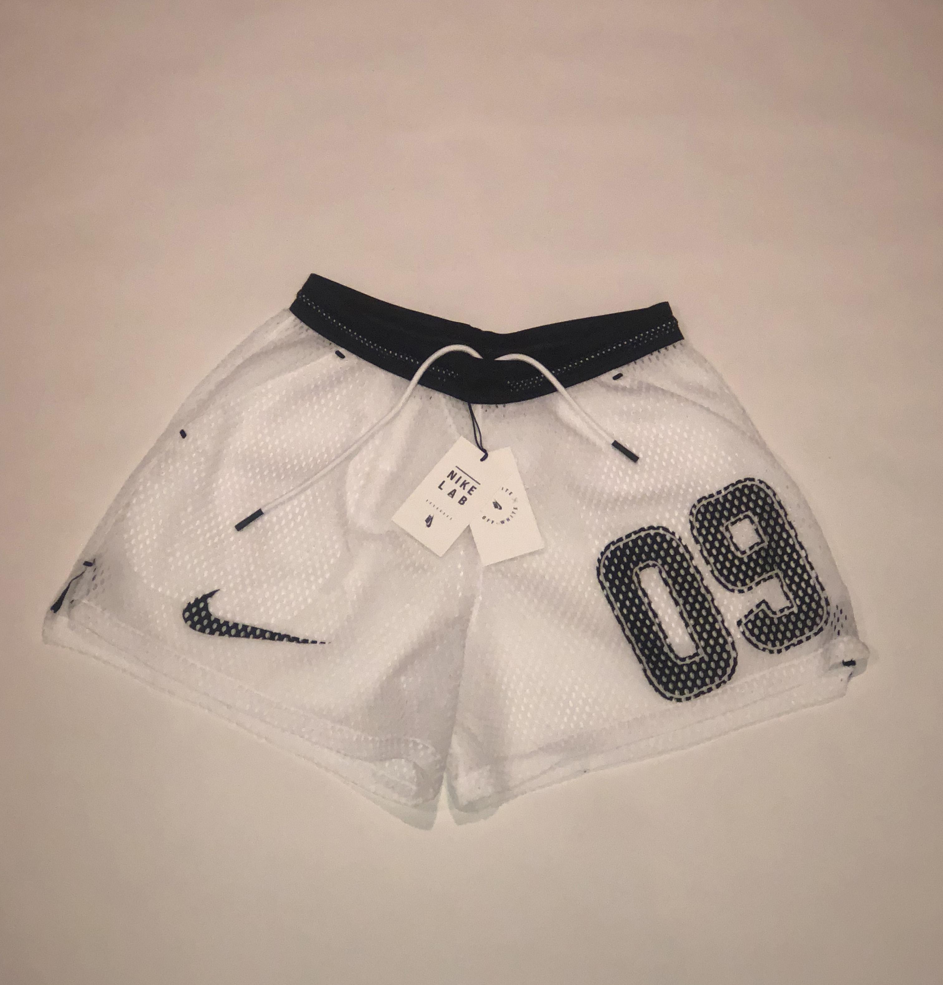 180c8f85 Nike Nikelab X Off-white Mercurial Nrg X Short White | Grailed