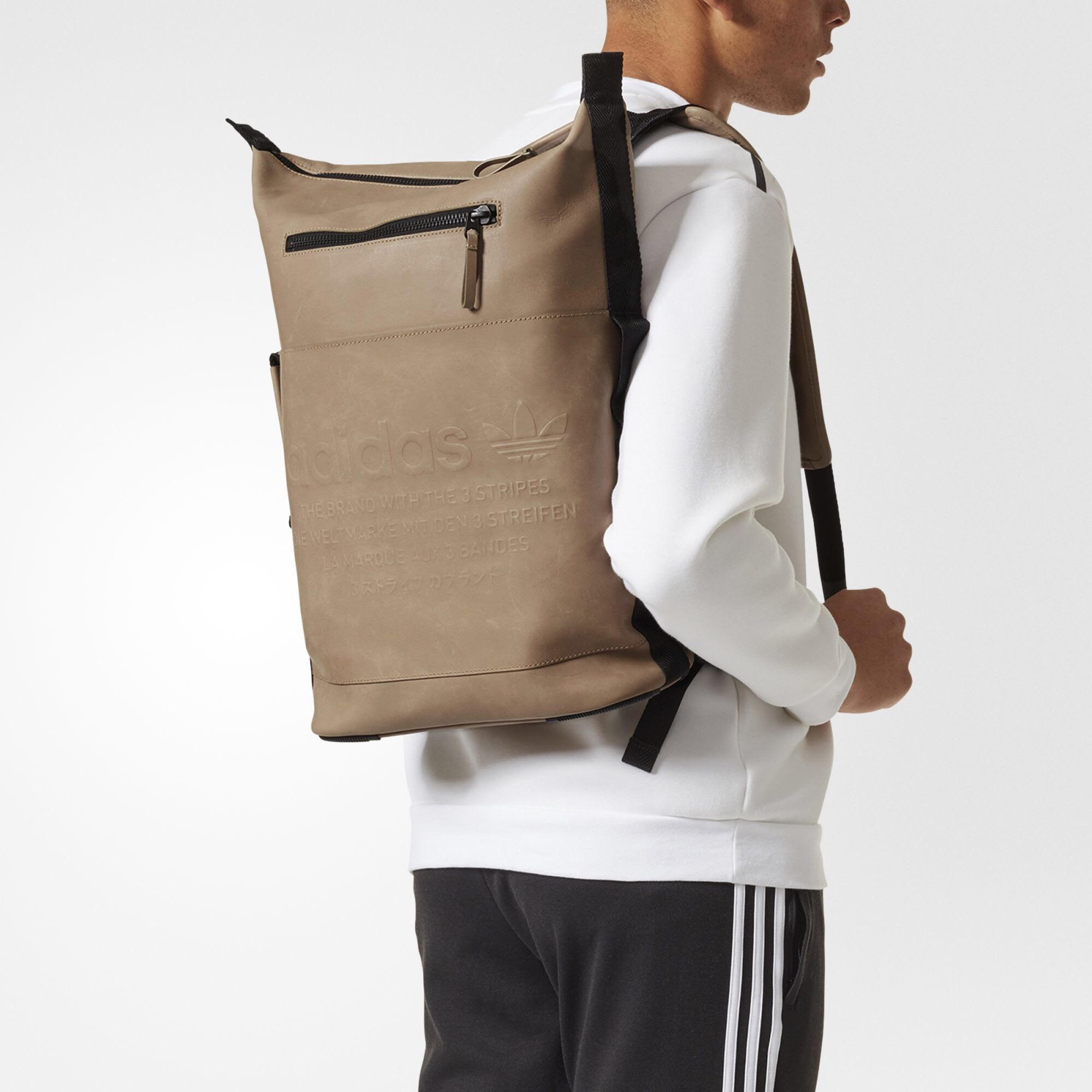 e08149402f2 Adidas Adidas Originals Nmd Day Backpack Tan Suede And Leather   Grailed