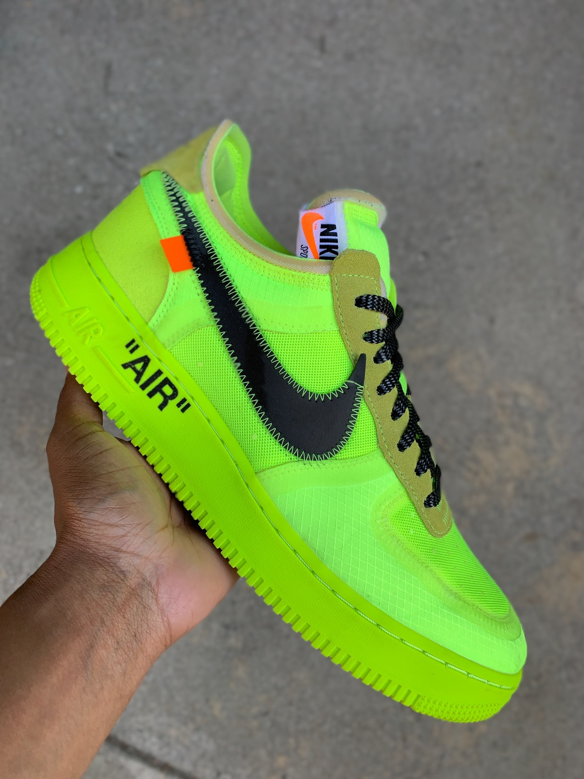 air force 1 low off-white eu 43