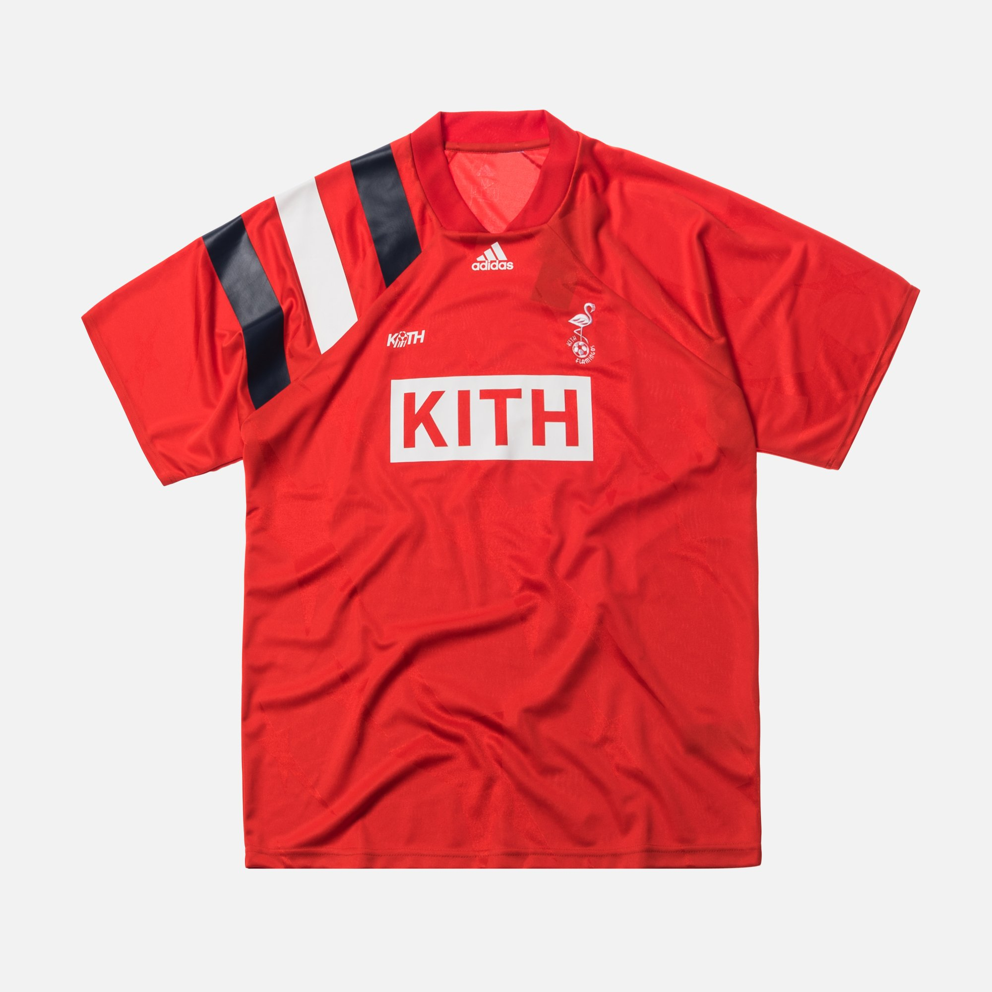 save off 71253 830b4 KITH X ADIDAS SOCCER MATCH JERSEY FLAMINGOS AWAY SIZE MEDIUM - NEW