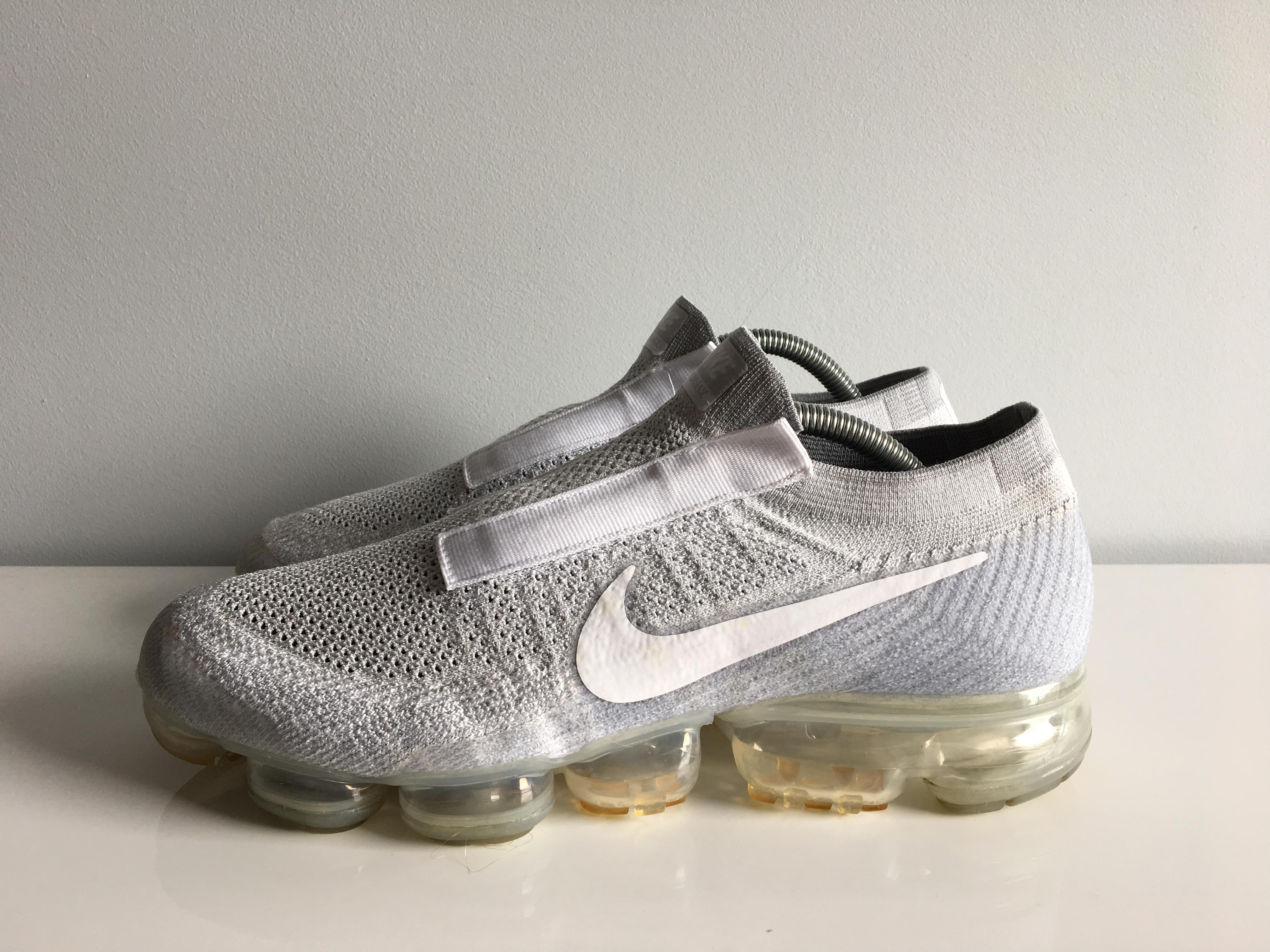 a57dfa3167 Nike Nike Air Vapormax Laceless Pure Platinum Aq0581-002 Vapor Cdg ...