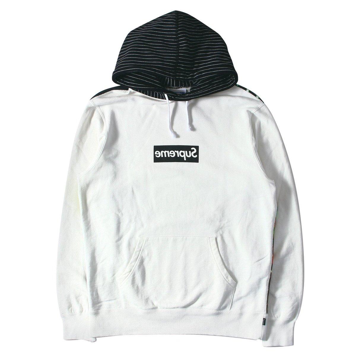 2f9b32c0fdf2 Supreme supreme comme des garcons harold hunter box logo hoodie XL ...
