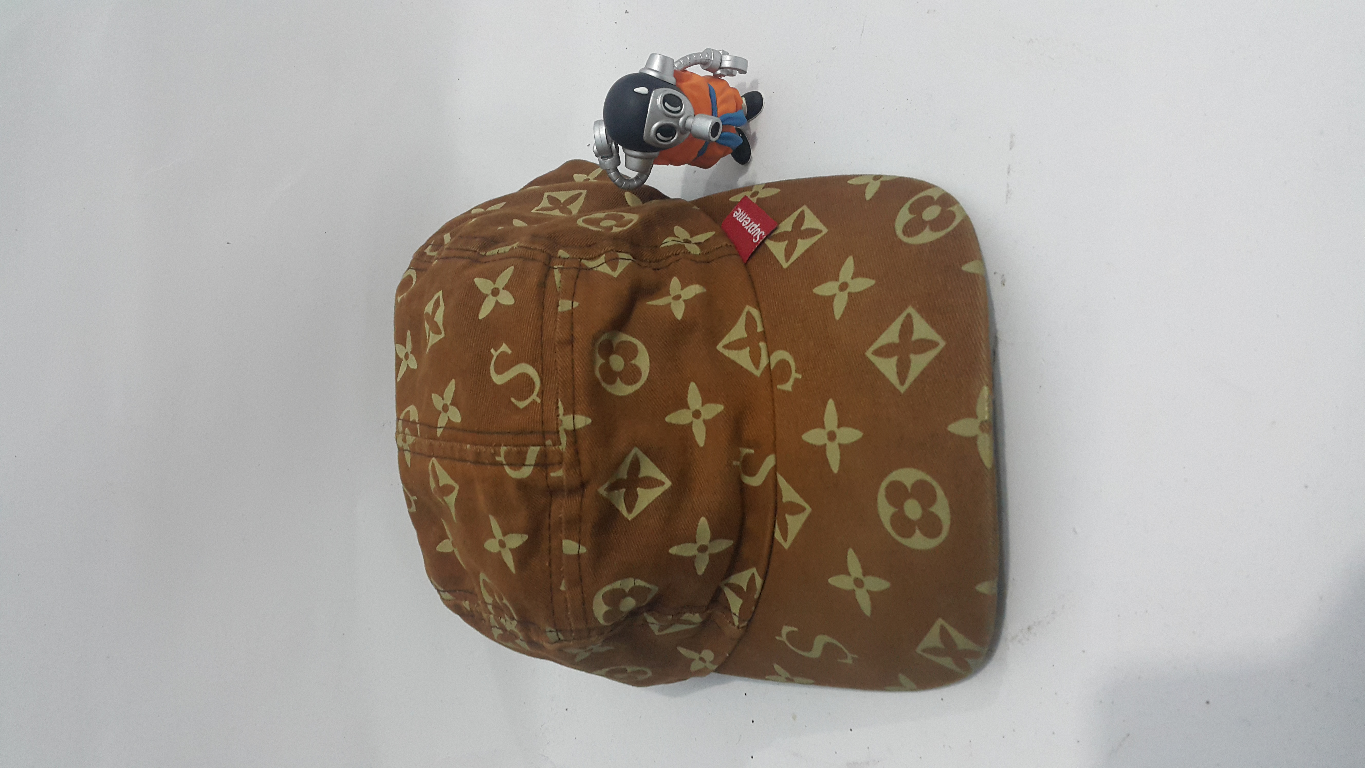 61ffd0ff9f5 Supreme Supreme OG monogram LV camp cap rare Size one size - Hats for Sale  - Grailed