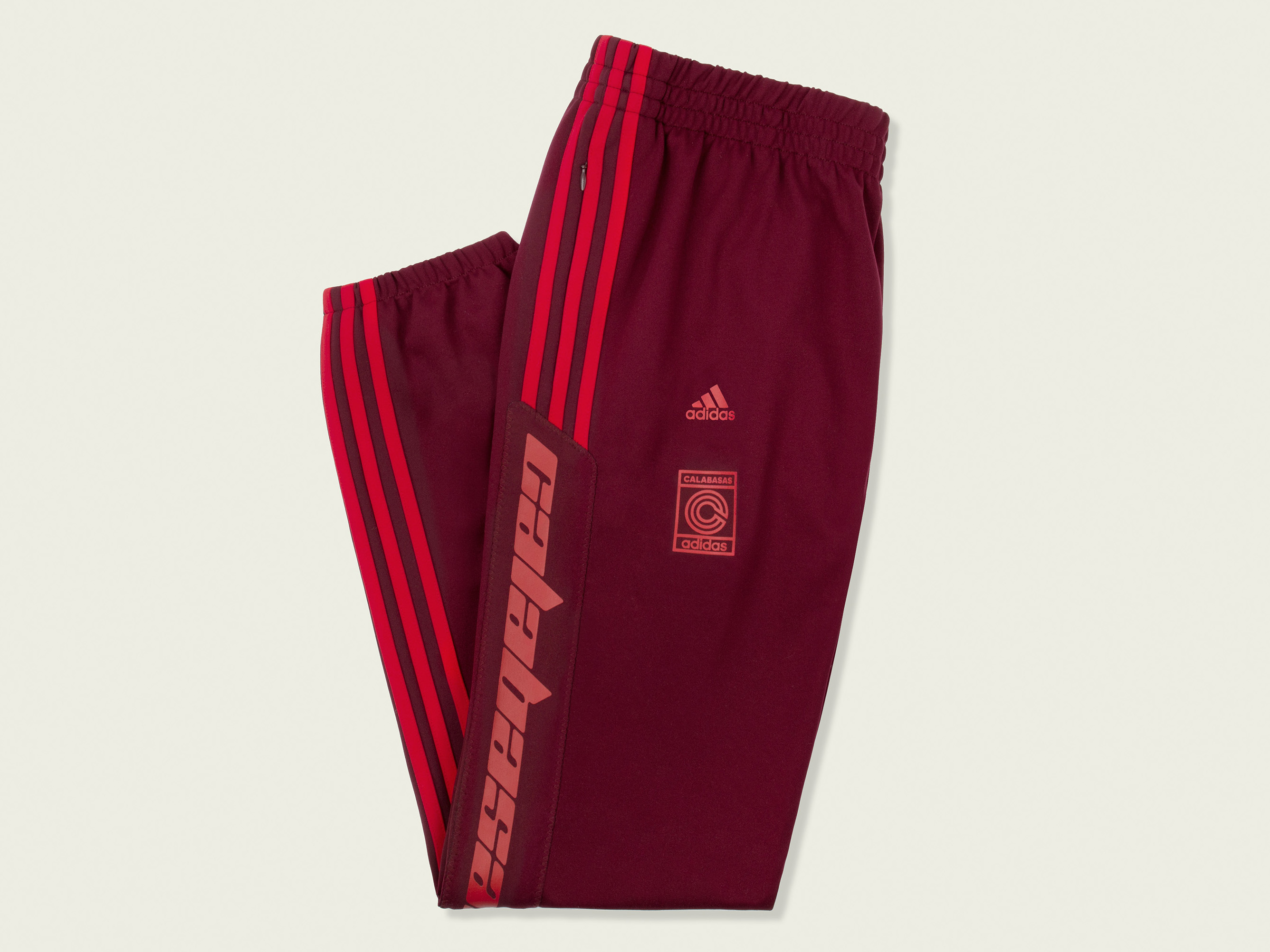YEEZY Calabasas Track Pants MAROON XS
