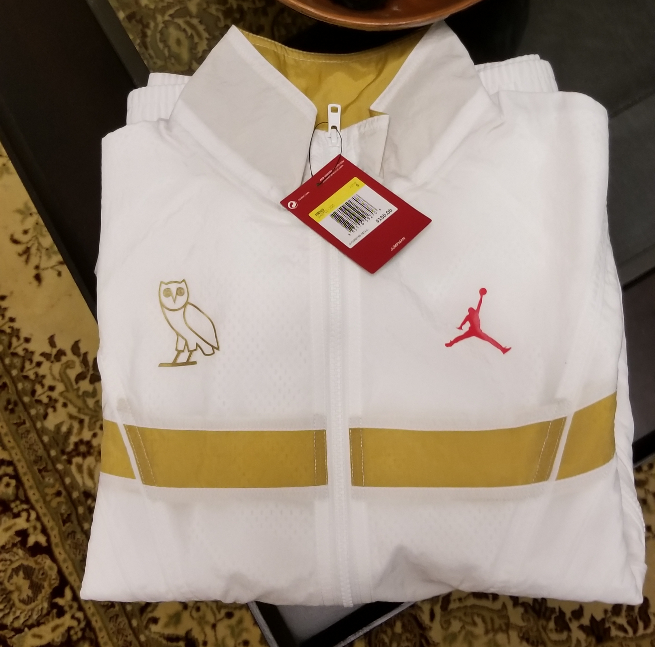5b733c71a30 Nike × Octobers Very Own ×. OVO JORDAN FLIGHT JACKET ...