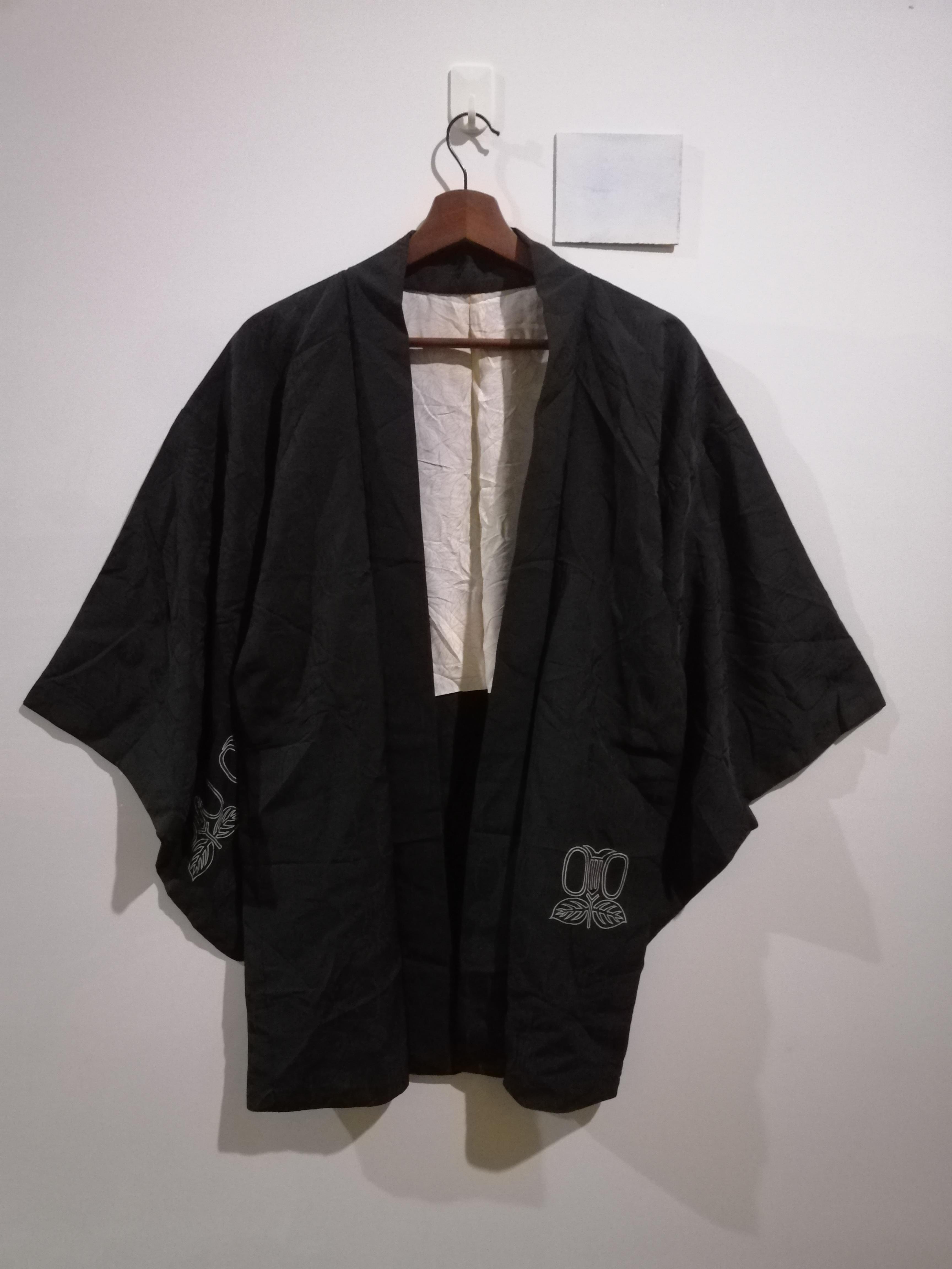 Vintage Noragi Kimono Haori Hanten Jinbei Japanese  Cardigan Happi Jacket B714 Purple Robe Dress FREE SHIPPING