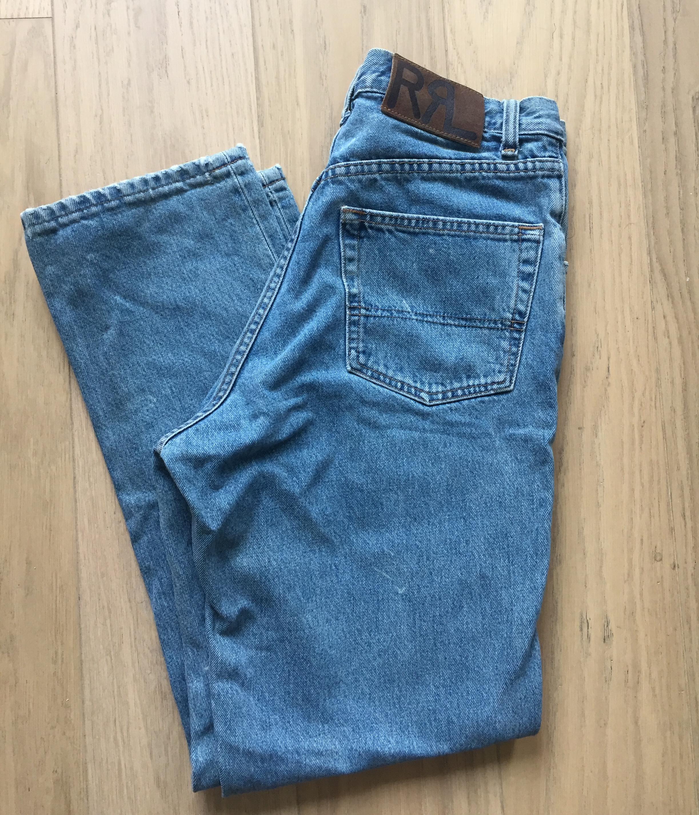 42ba396d82 Rrl Vintage RRL Stone Washed Denim Made in USA 30x30 Size 30 - Denim ...