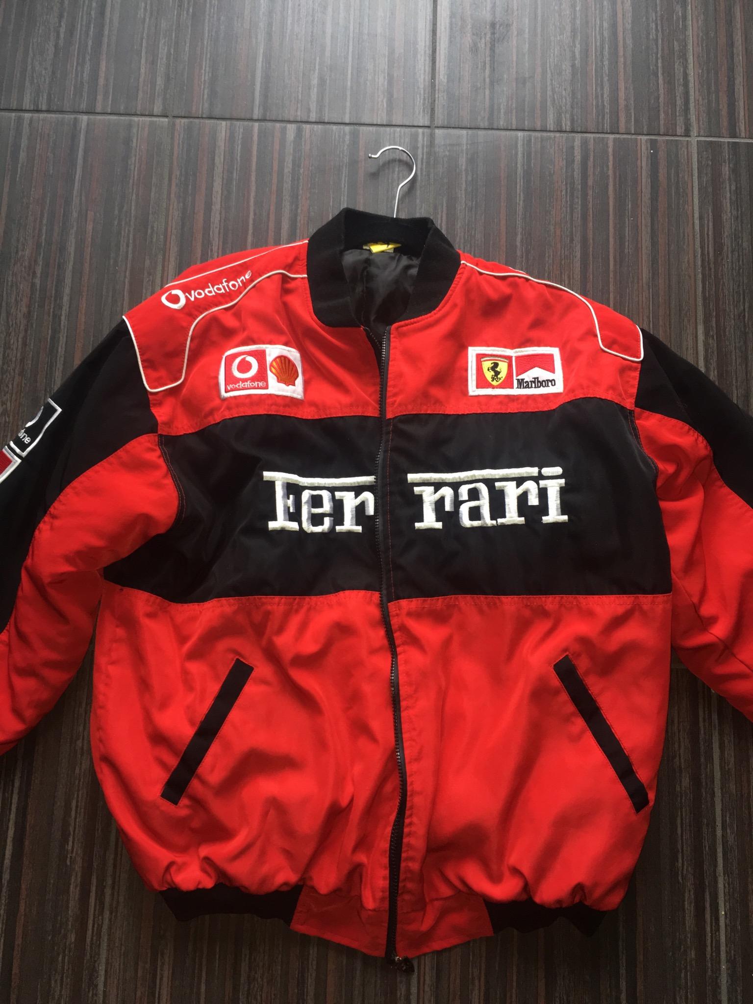 Ferrari Vintage Ferrari X Marlboro F1 Racing Jacket Grailed