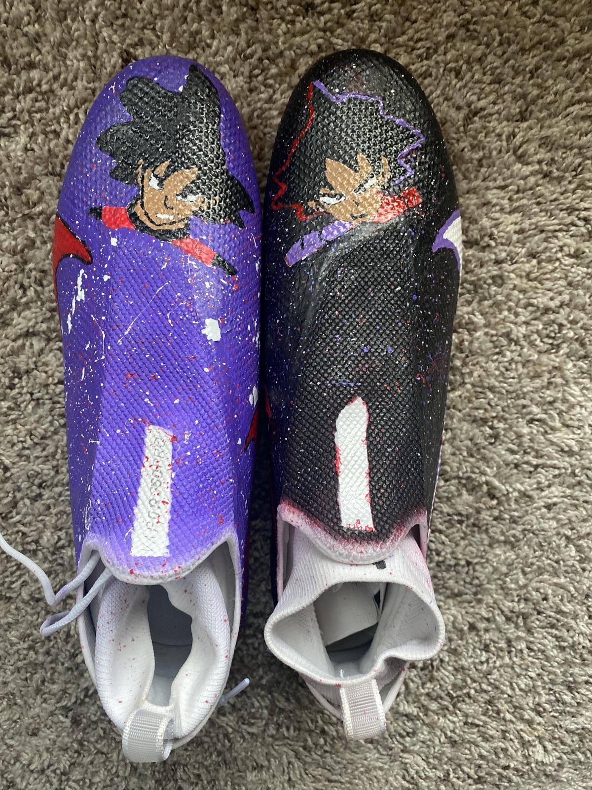 Nike Nike football cleats ( custom )