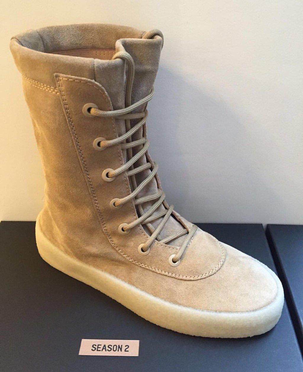 premium selection 700d1 0308c Kanye West Yeezy Season 2 Crepe Boot   Grailed